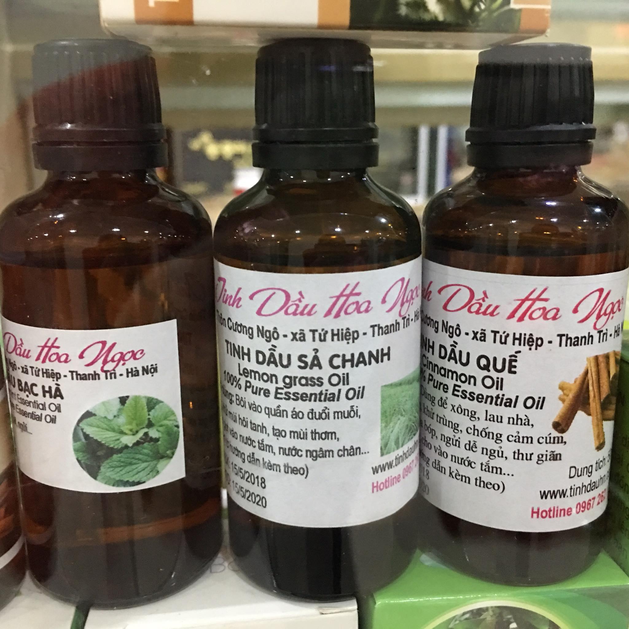 Tinh dầu sả chanh Hoa Ngọc 50ml