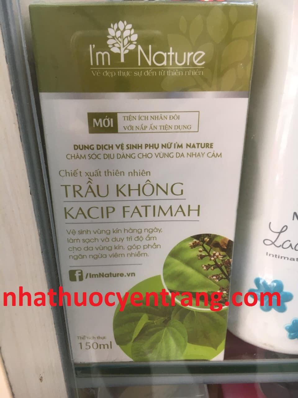 Dung dịch vệ sinh Trầu Không Kacip Fatimah 150ml