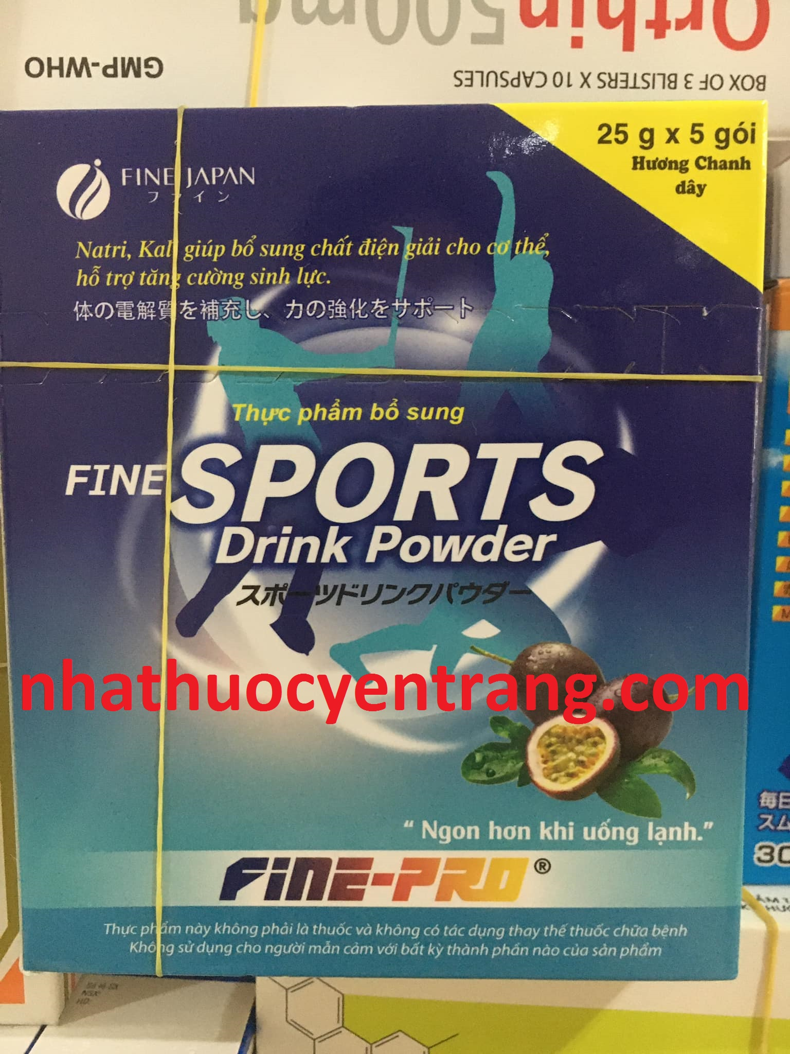 Sport Drink Powder - Fine Japan