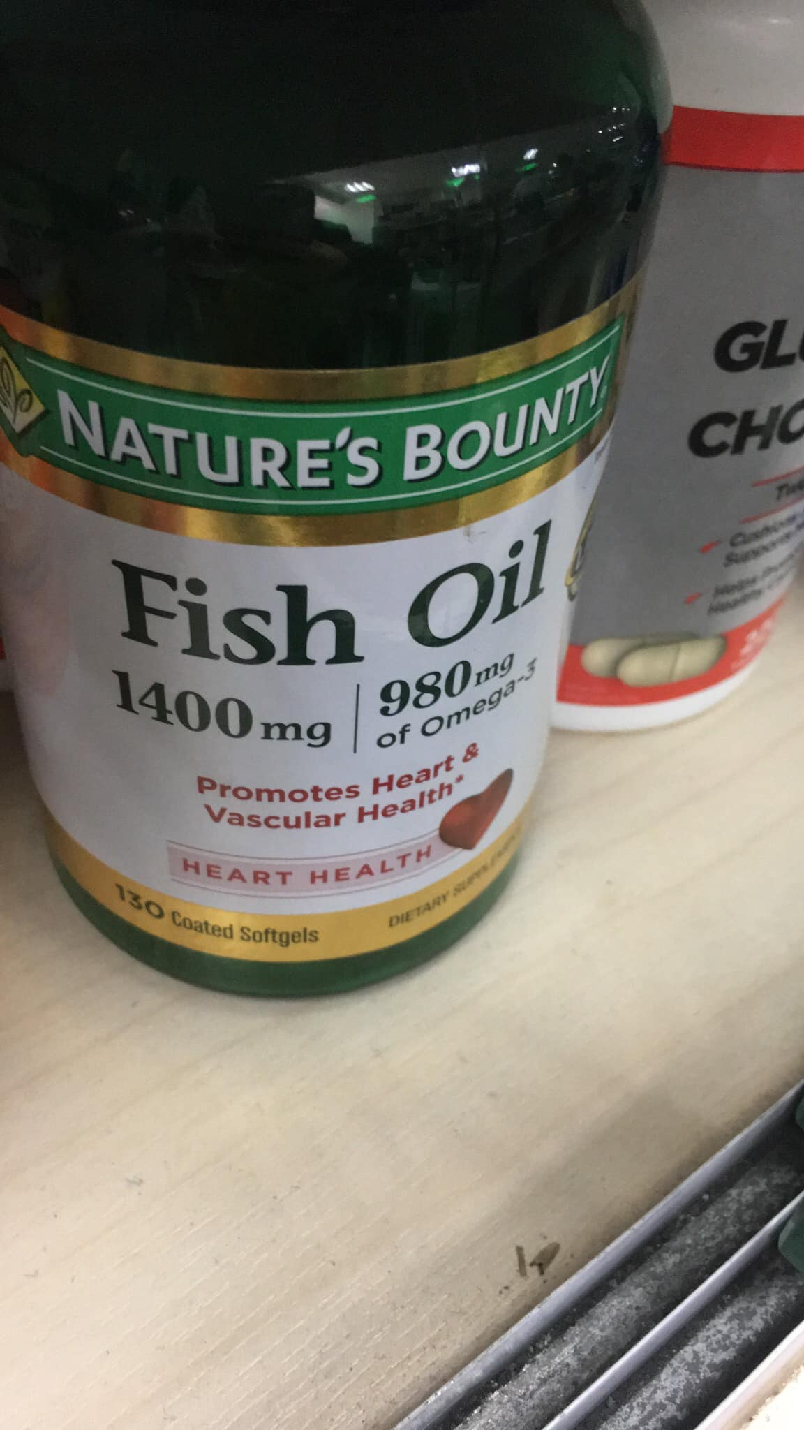 Fish Oil Nature's Bounty 1400mg 130 viên