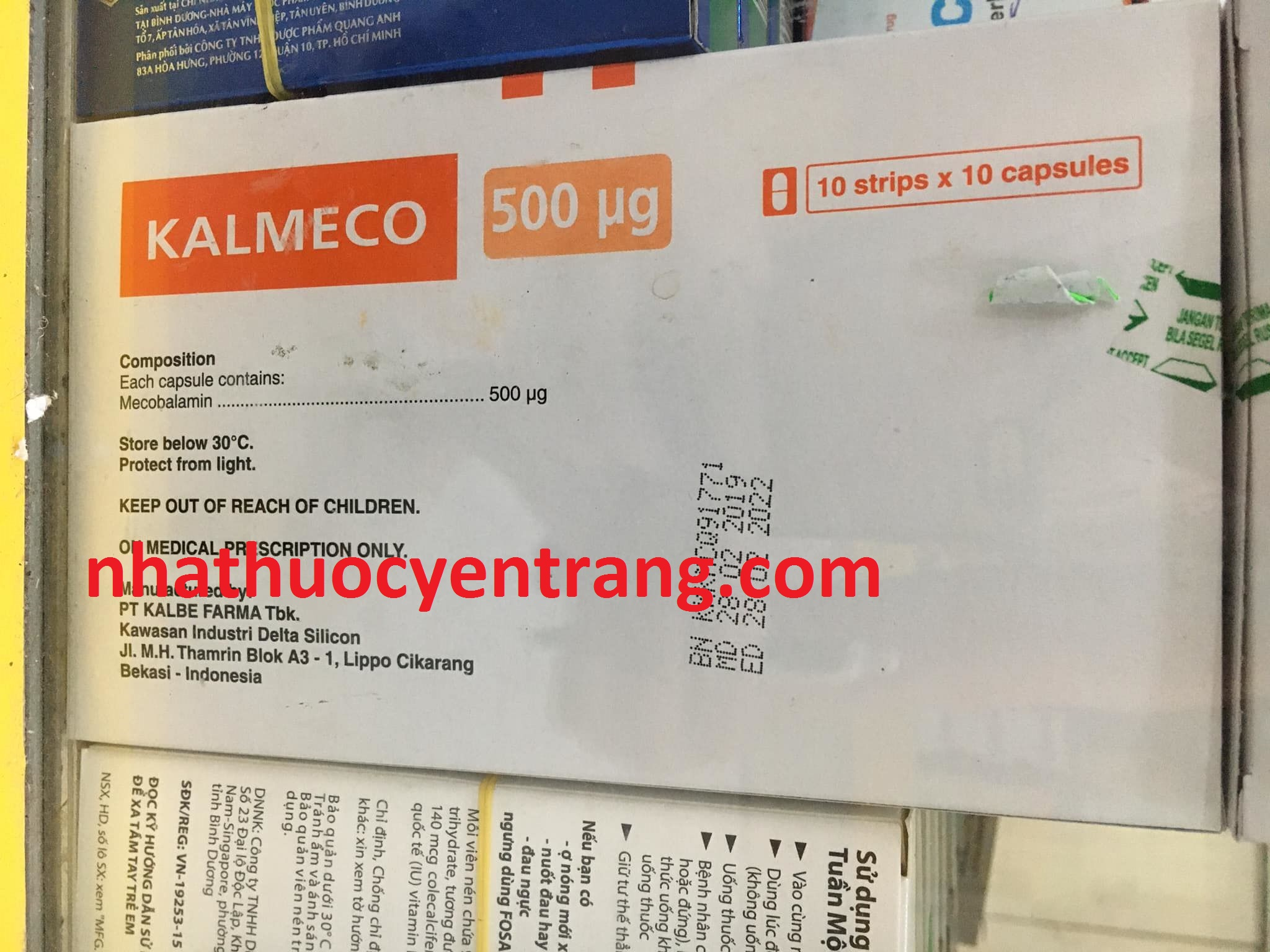 Kalmeco 500mcg