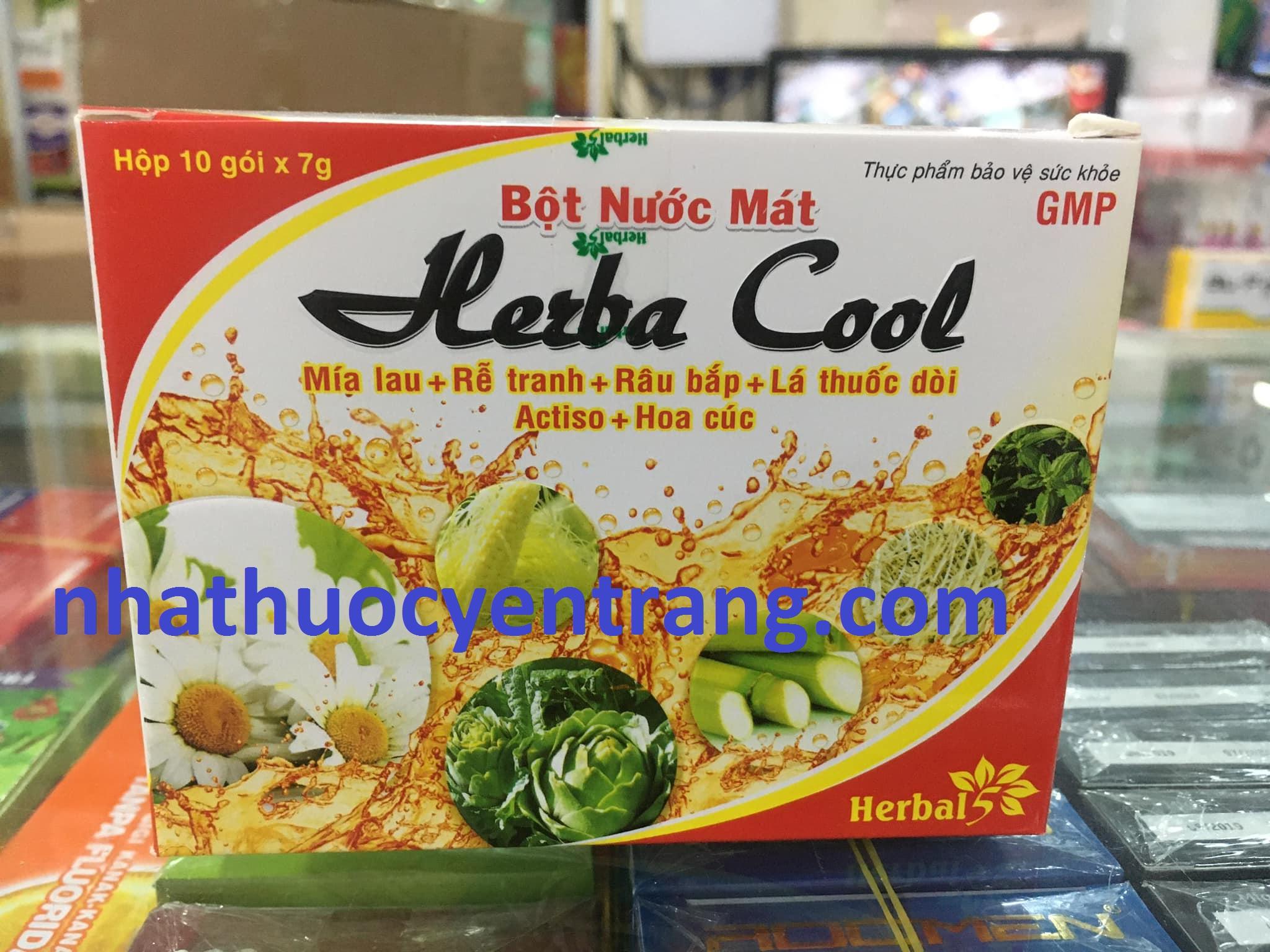 Bột nước mát Herba Cool