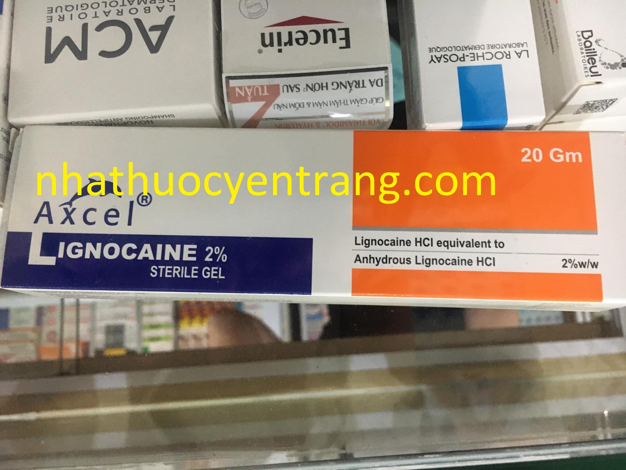 Axcel Lignocaine 2% 20g