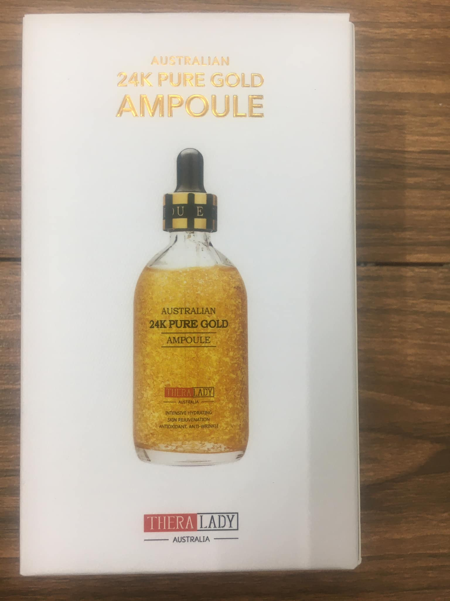 Serum Australia 24k Pure Gold Ampoule 100ml