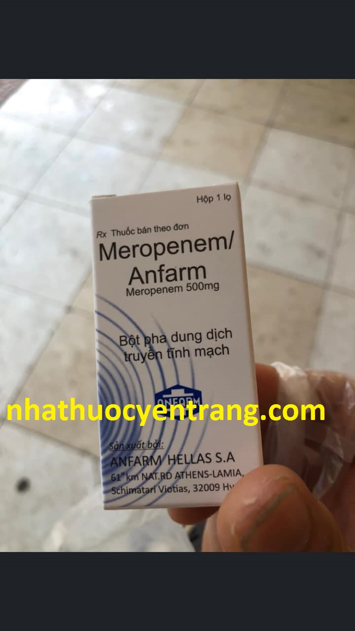 Meropenem Anfarm 500mg