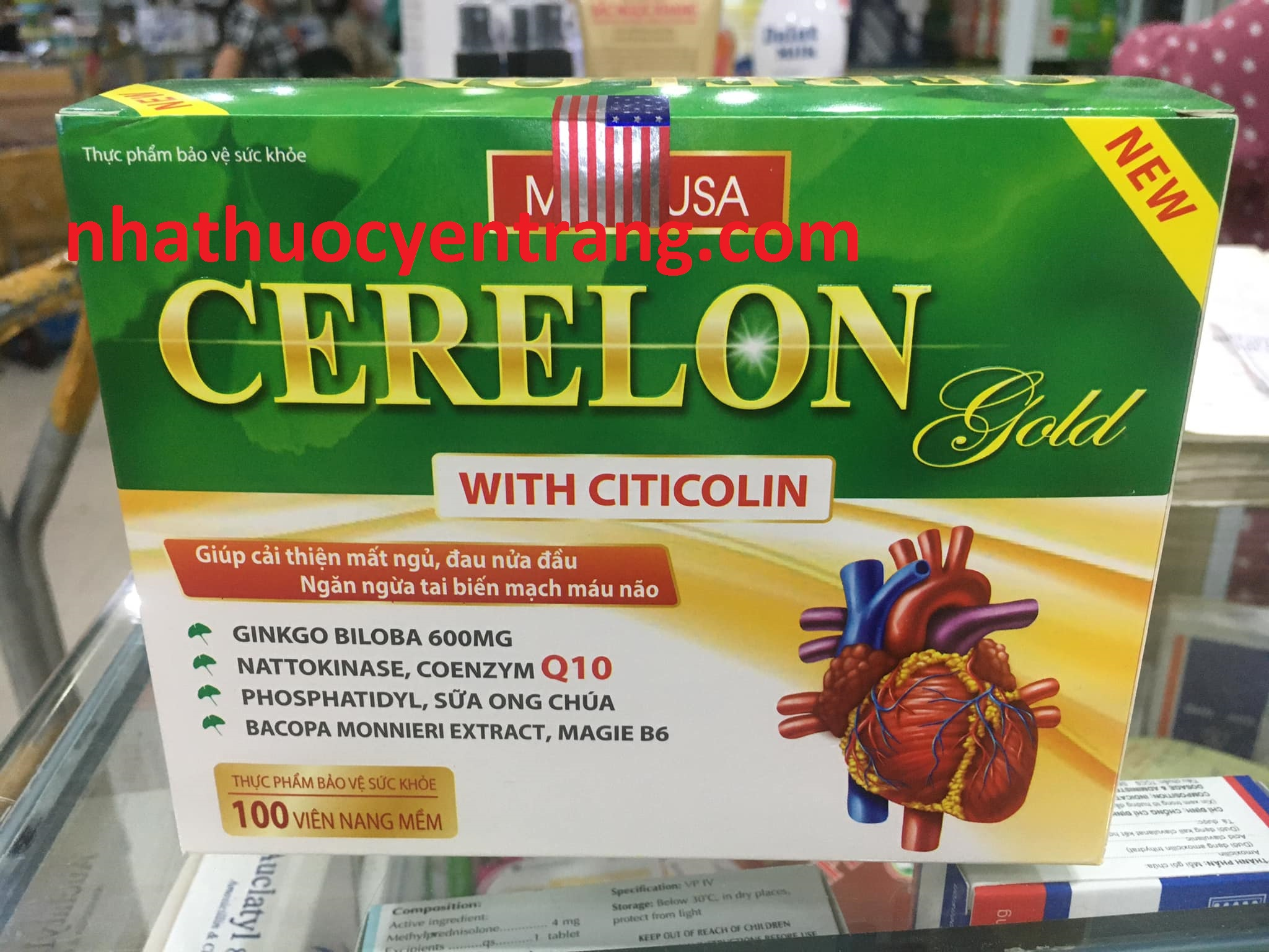 Cerelon gold with citicolin