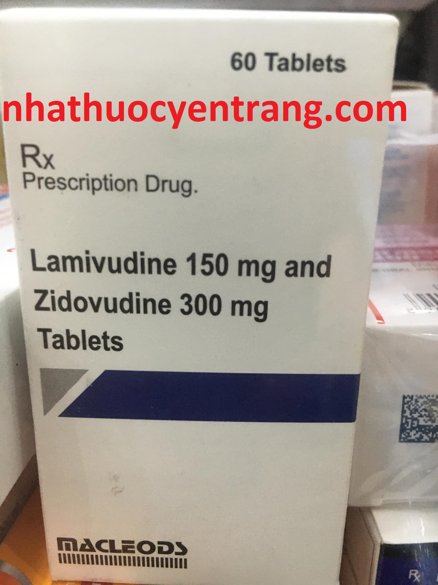 Lamivudine 150mg and Zidovudine 300mg