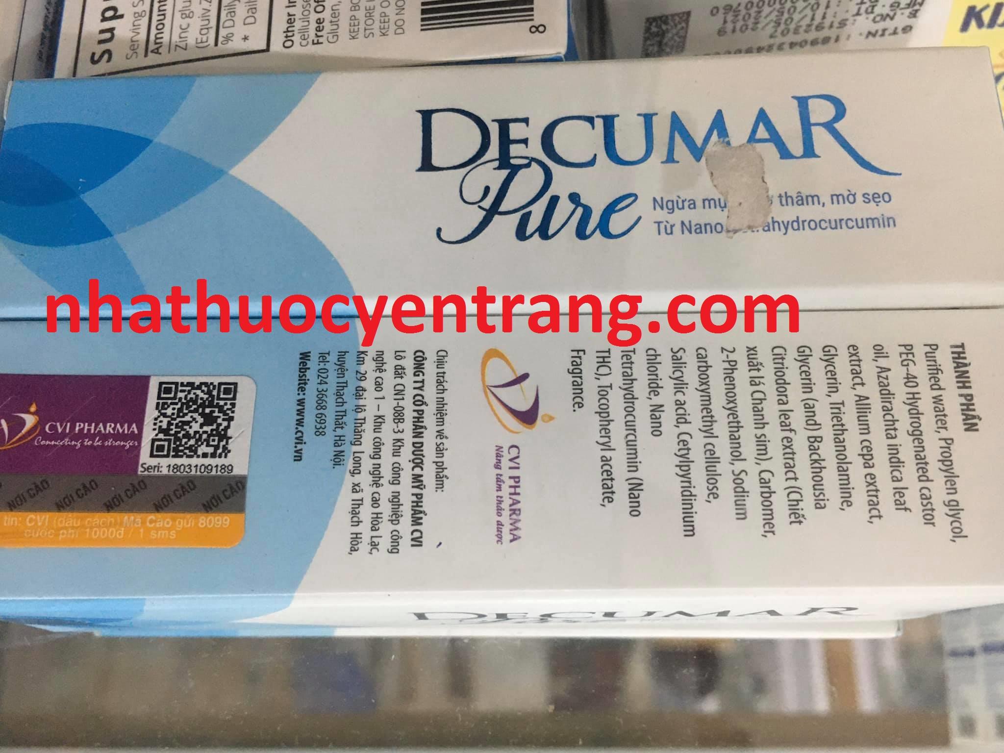 Decumar Pure 15g