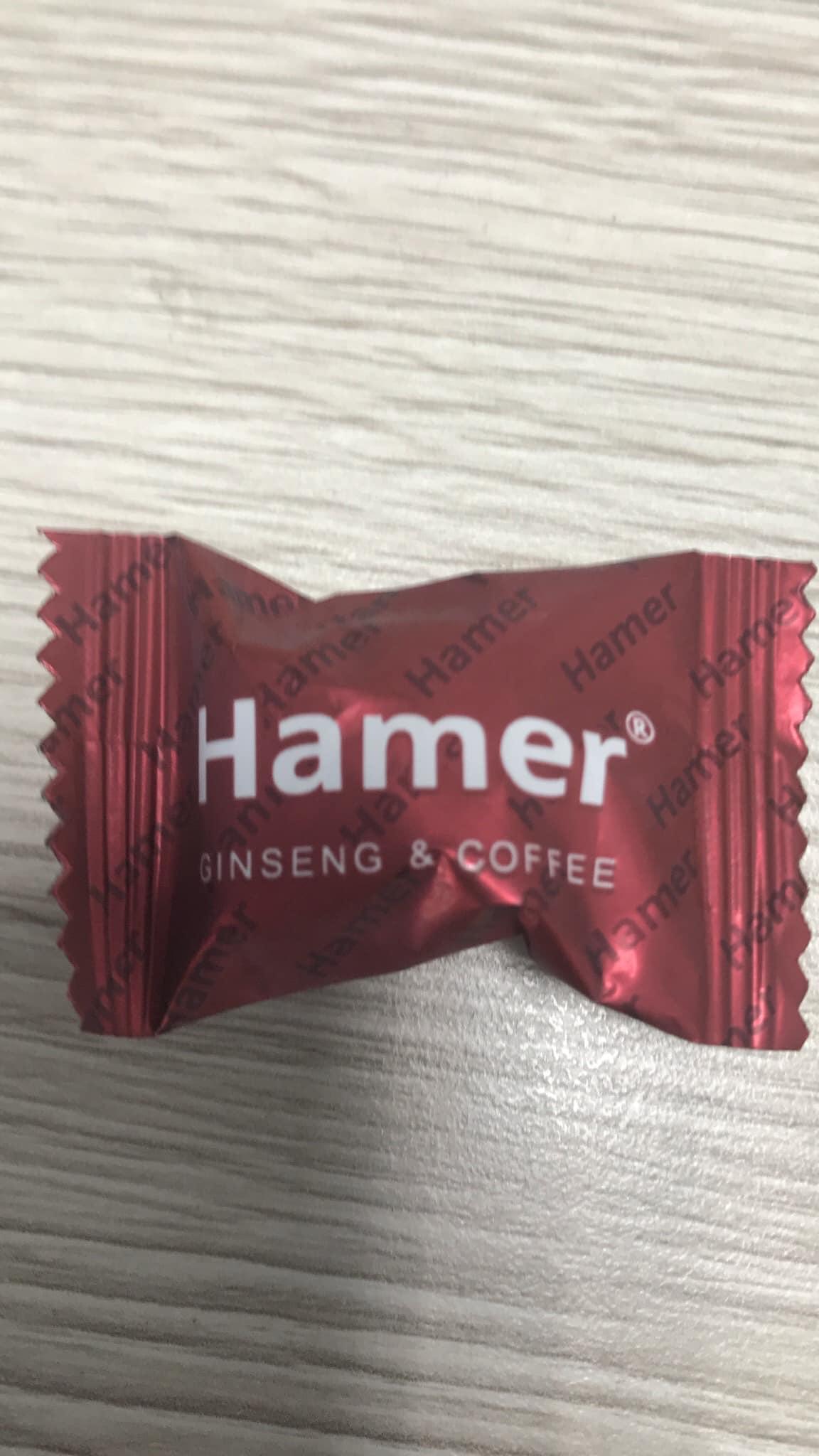 Kẹo Sâm Hamer Hộp 5 Viên