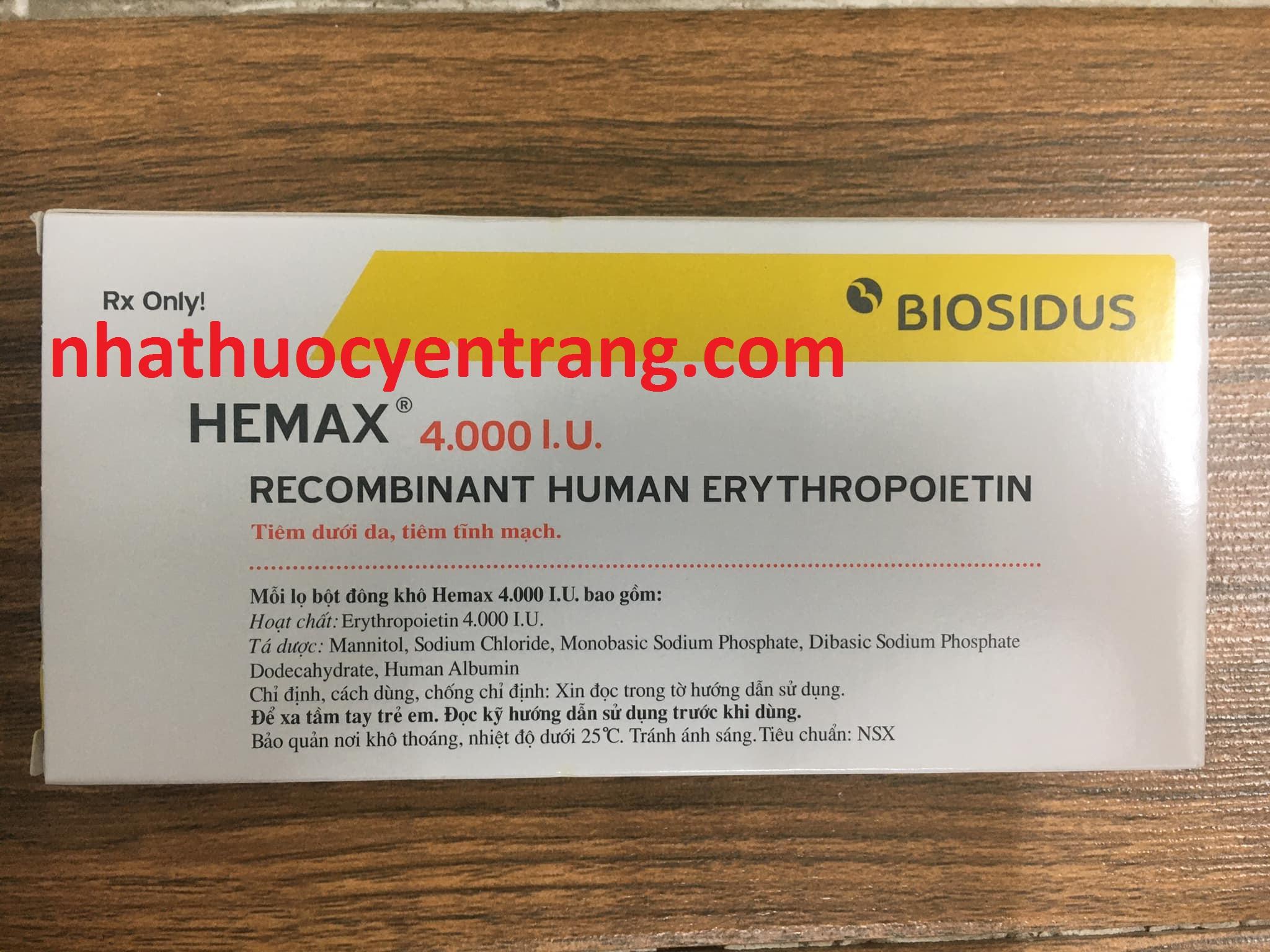 Hemax 4000 UI
