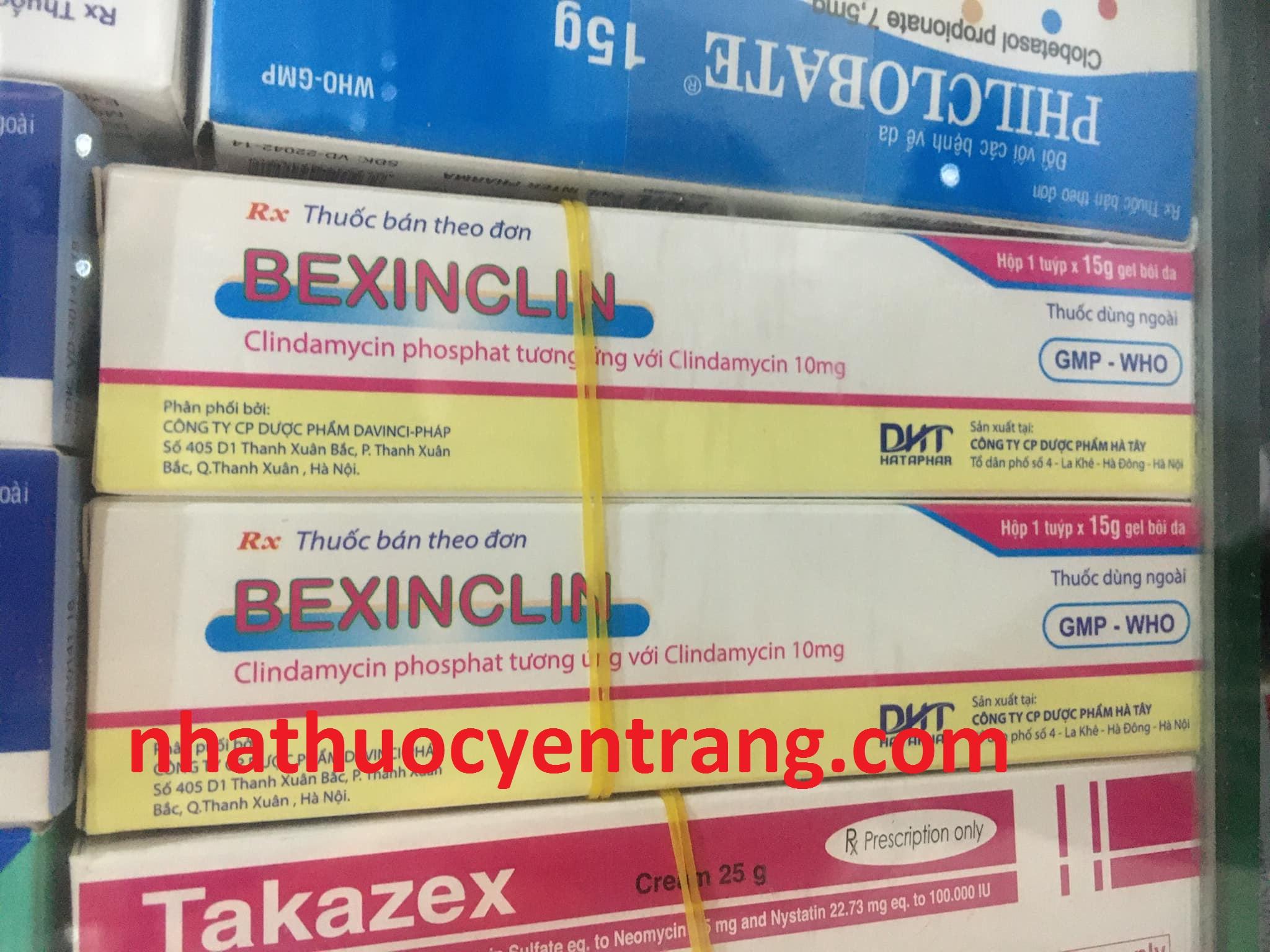 Bexinclin