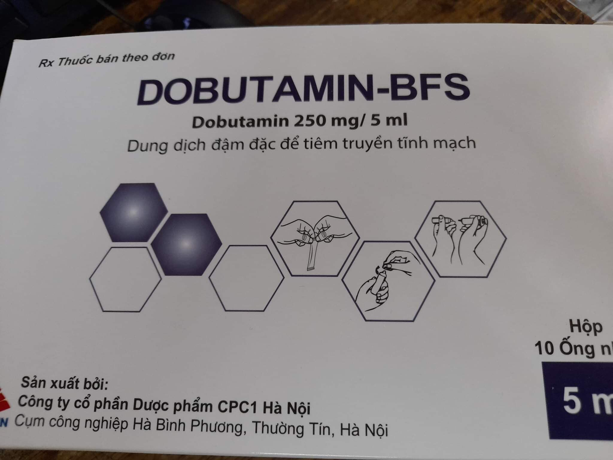 Dobutamin - BFS