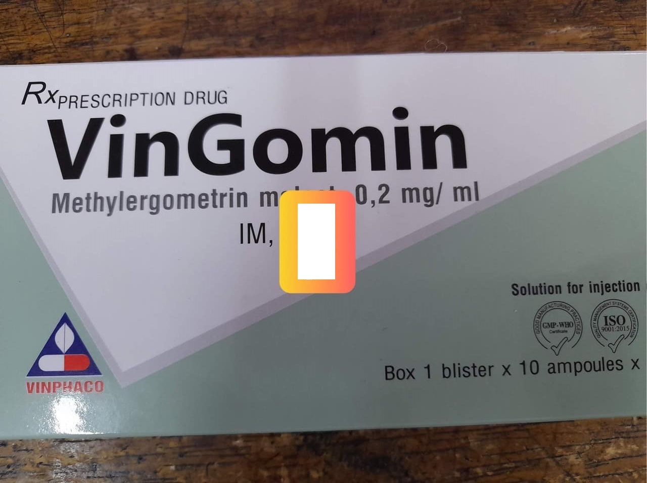 Vingomin 0.2mg/ml
