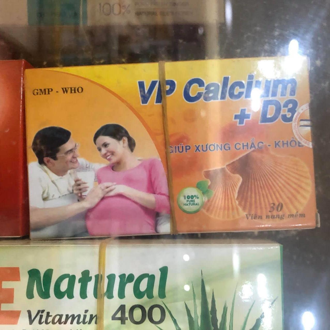 Vp Calcium + D3 30 viên