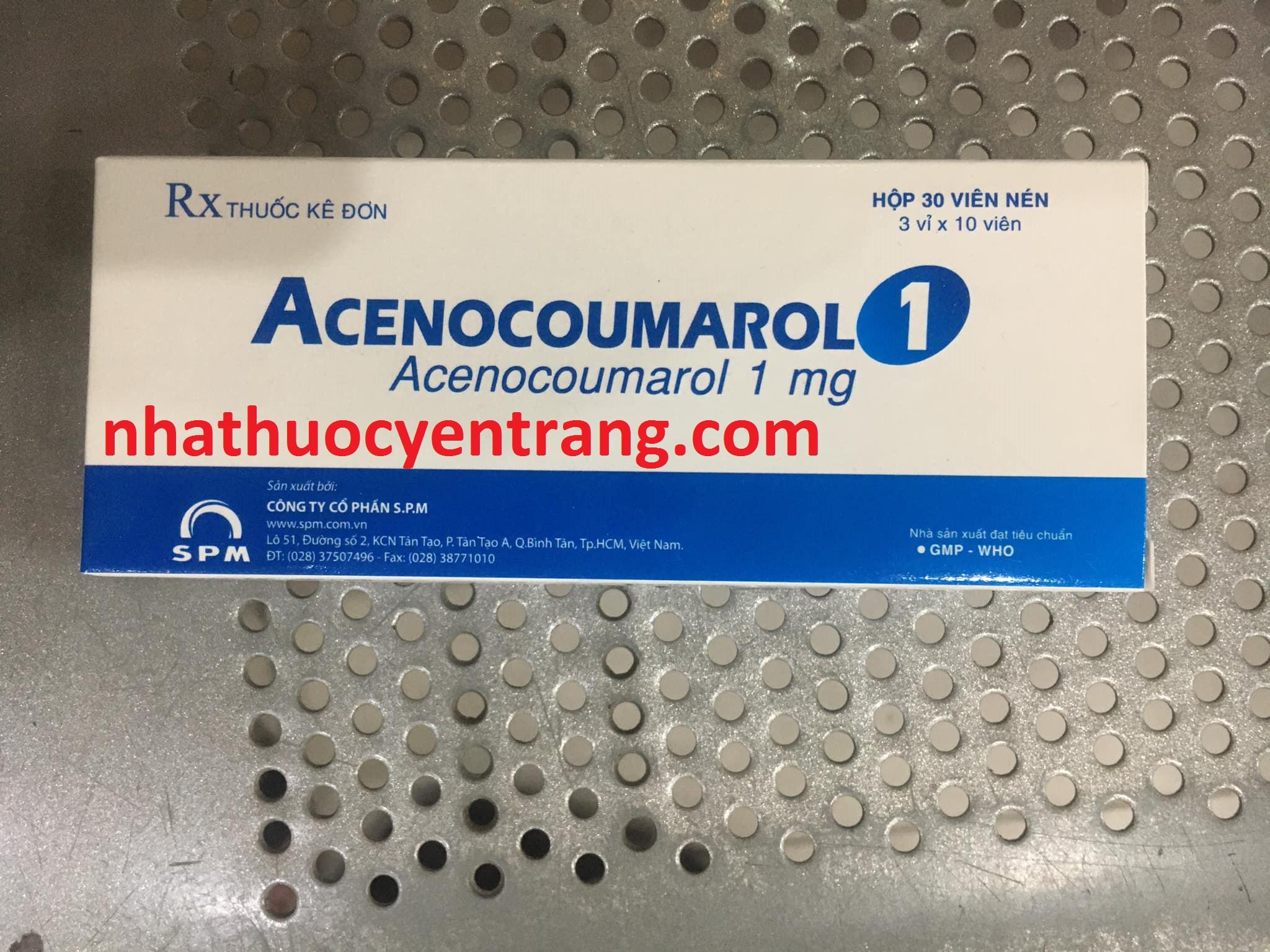 Acenocoumarol 1mg SPM