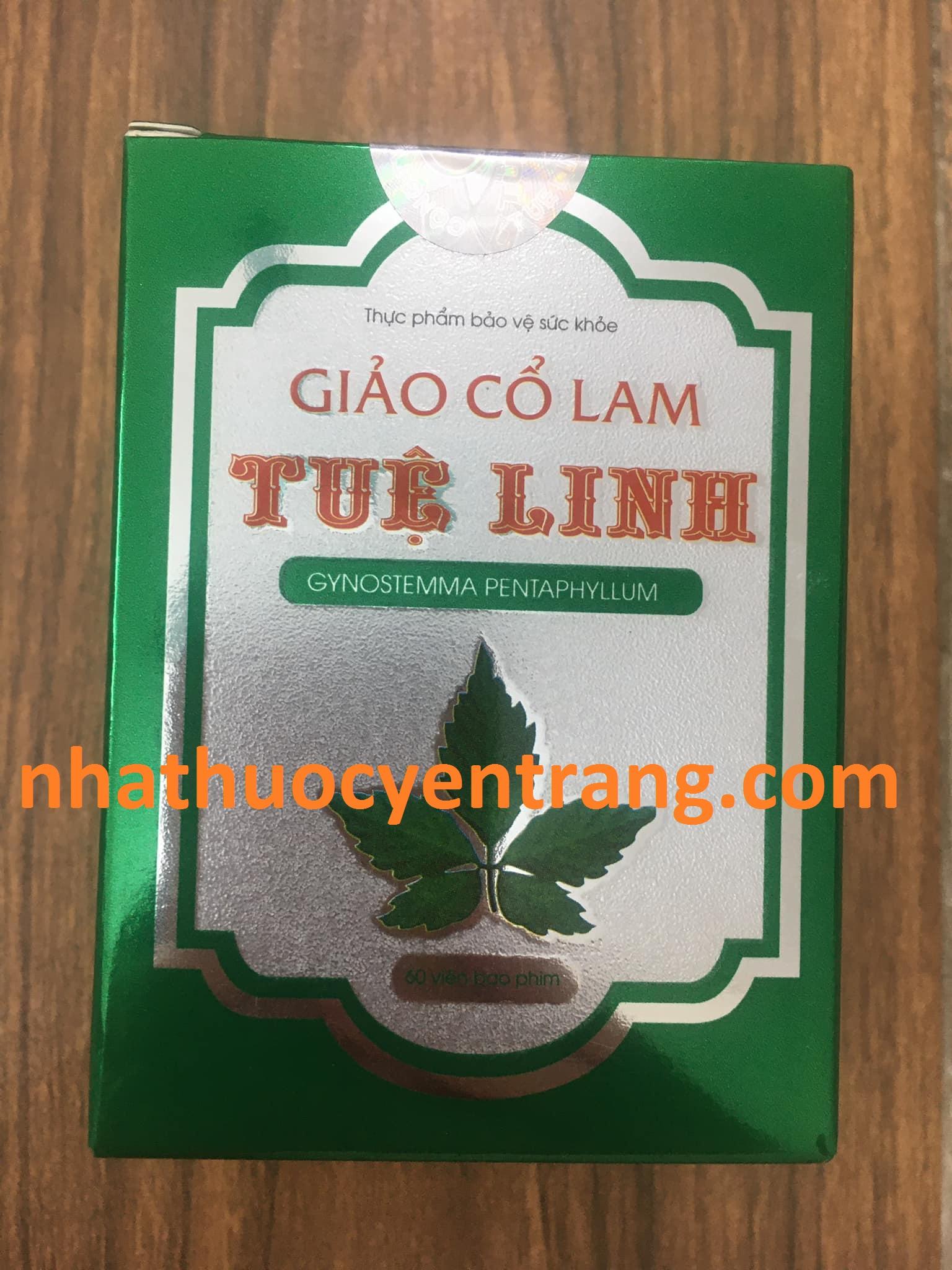 Giảo Cổ Lam Tuệ Linh (60 viên)