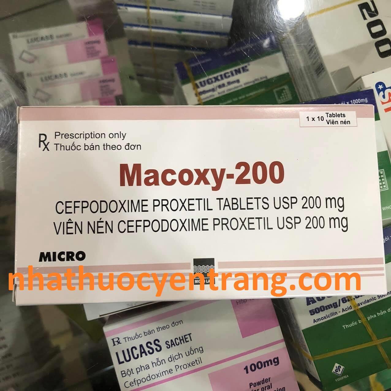 Macoxy 200mg