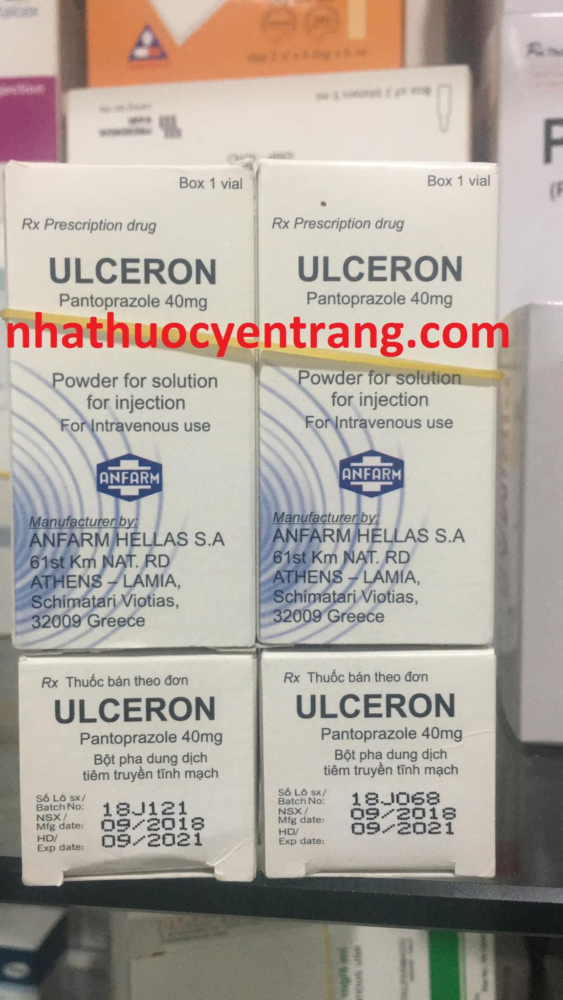 Ulceron 40mg