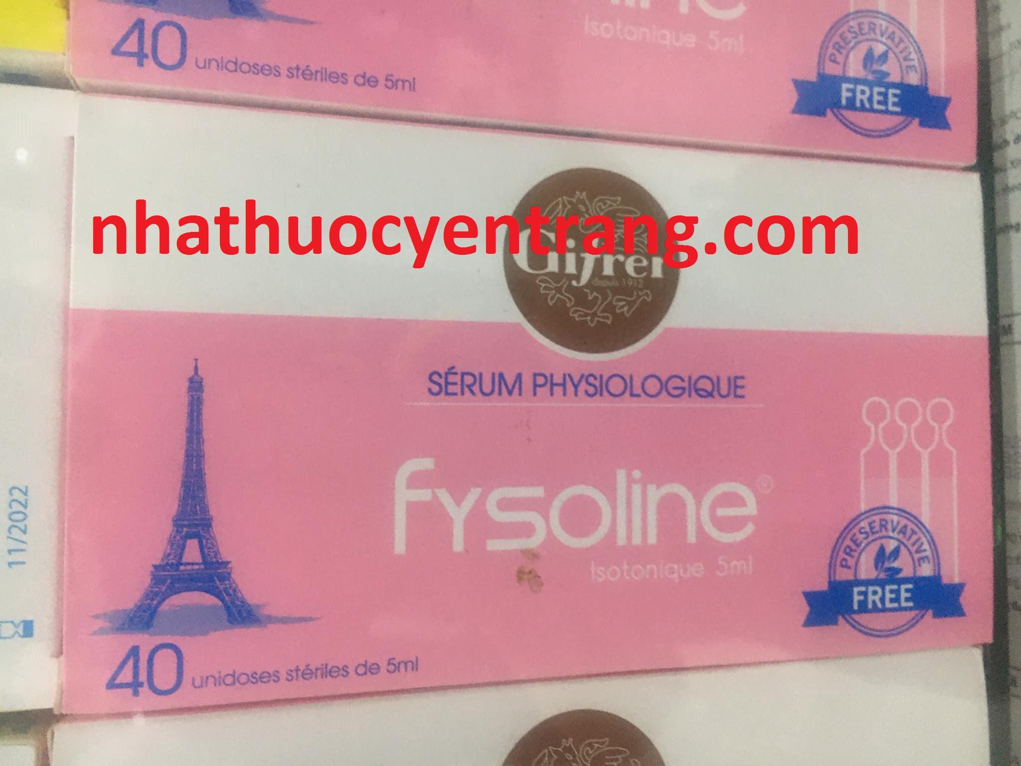 Fysoline hồng