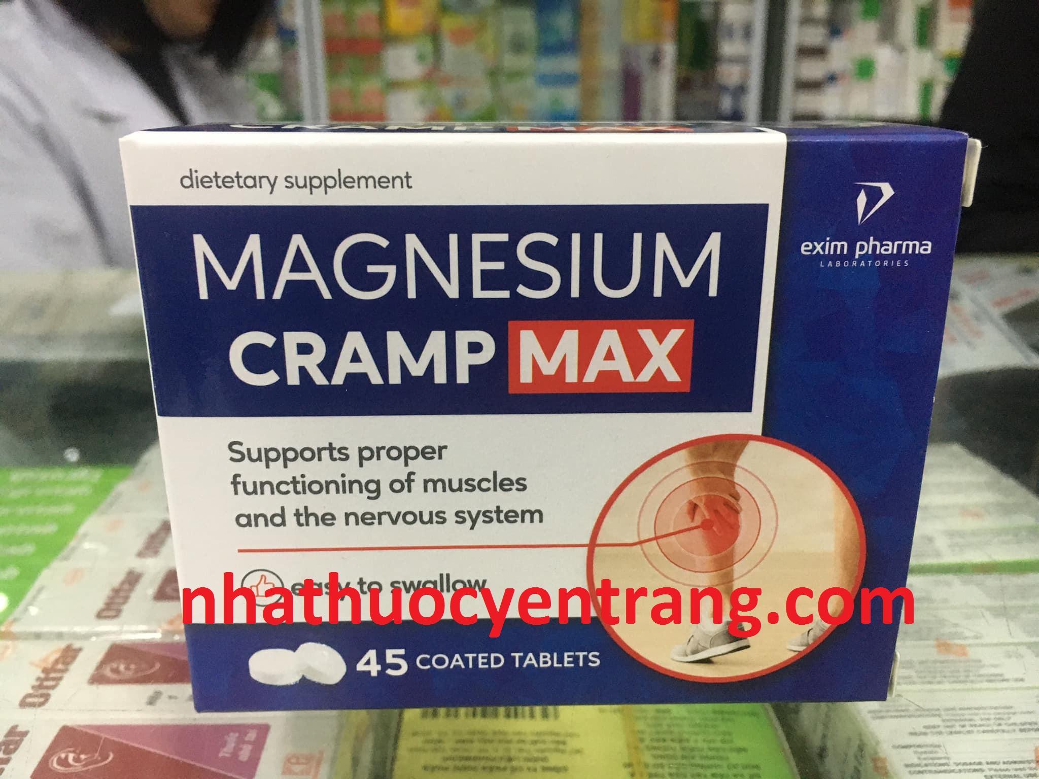 Magnesium Cramp Max