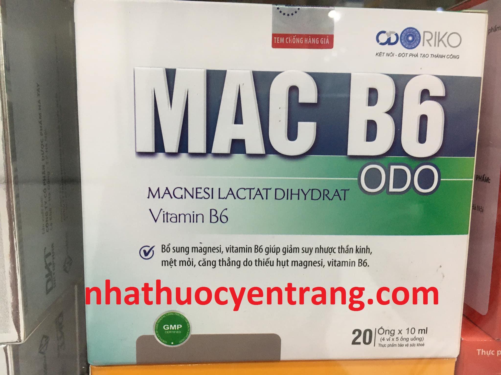 Mac B6