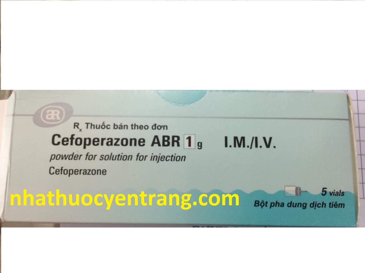 Cefoperazone ABR 1g