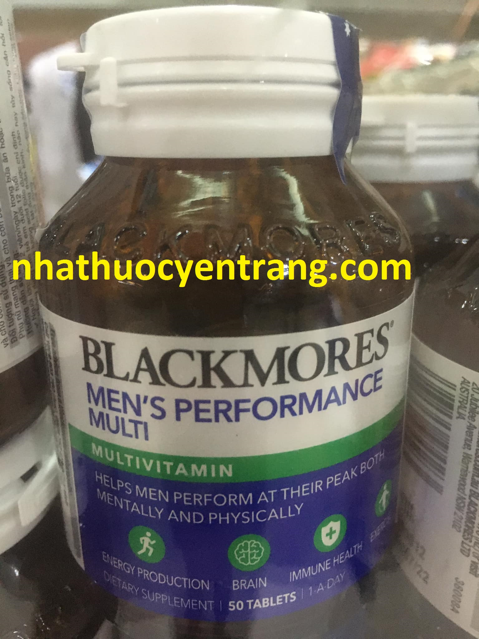 Blackmores Men's Performance Multi (Lọ 50 viên)