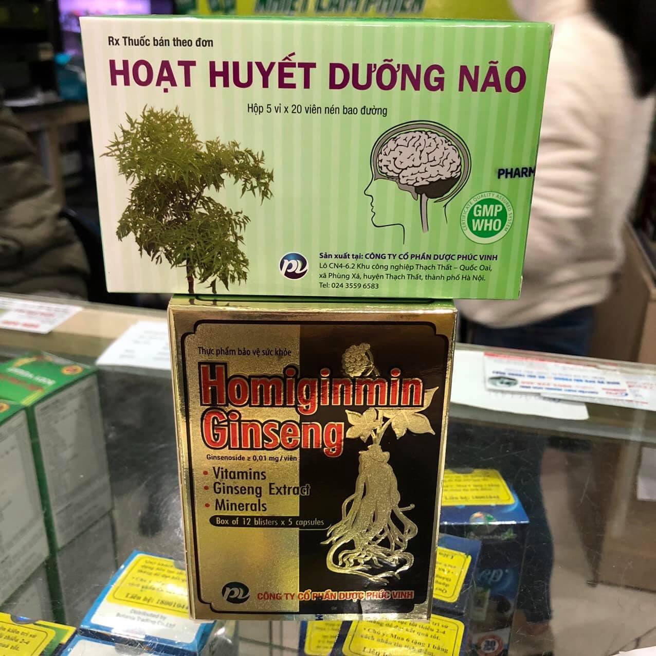 Homiginmin Ginseng Phúc Vinh