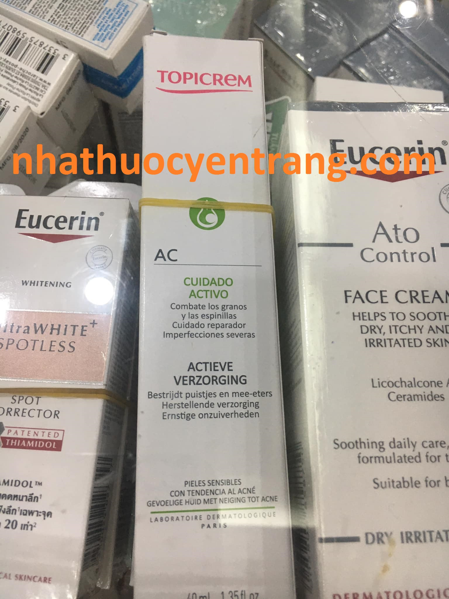 KEM DƯỠNG TOPICREAM-AC CUIDAVO  40ML