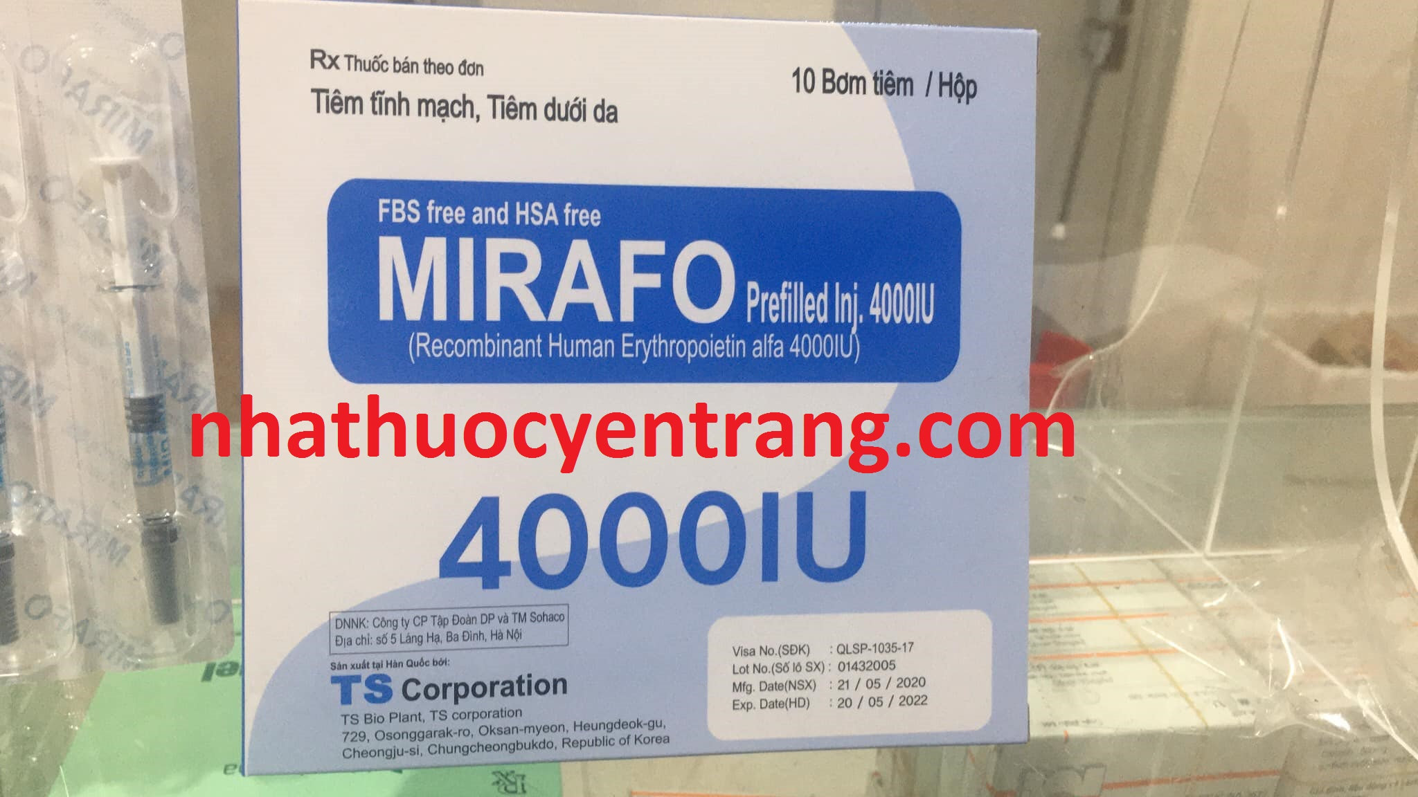 Mirafo 4000IU