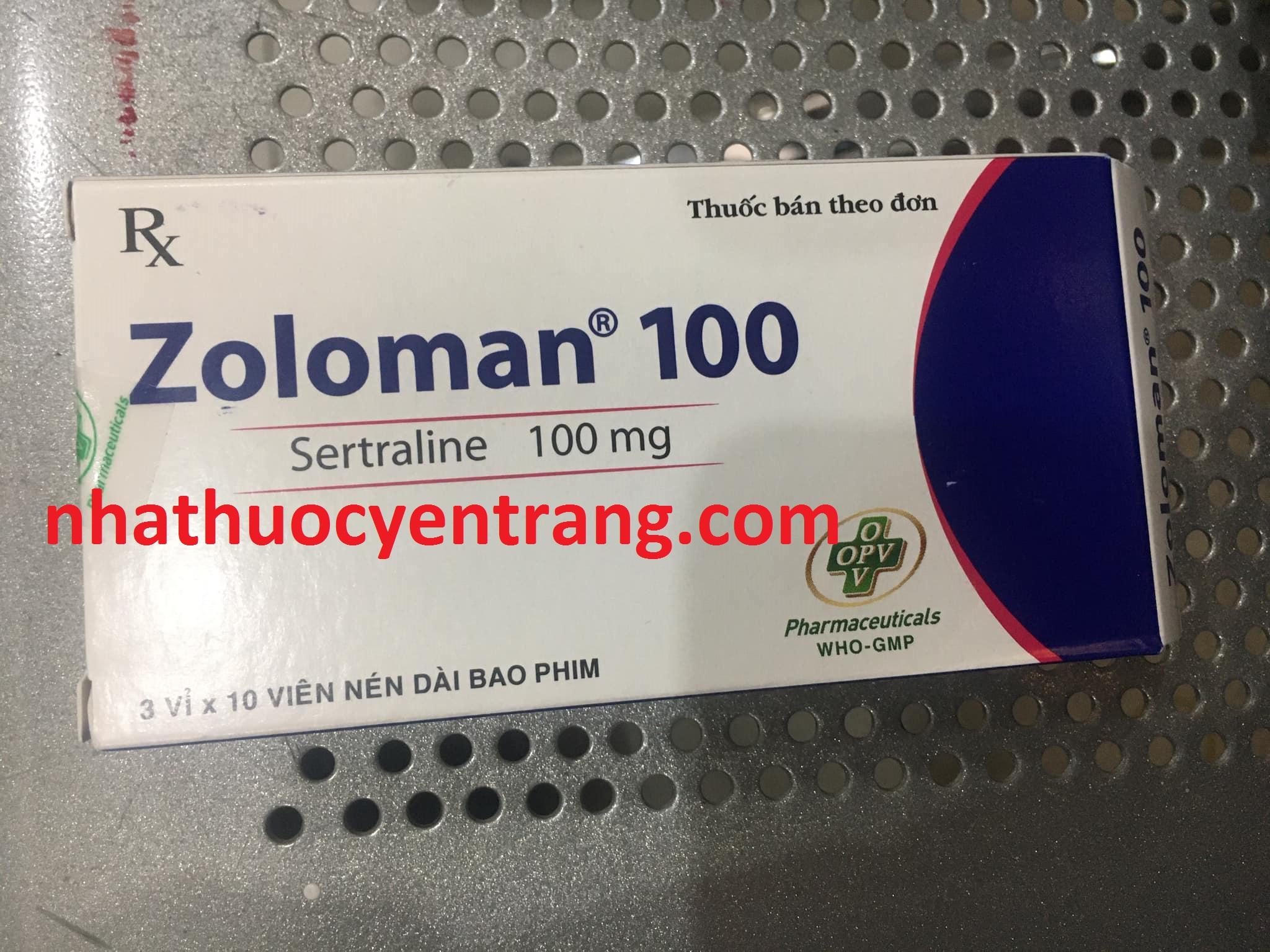 Zoloman 100mg