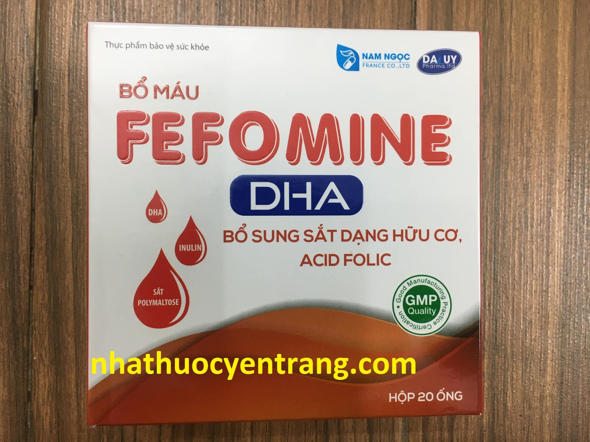 Fefomine DHA