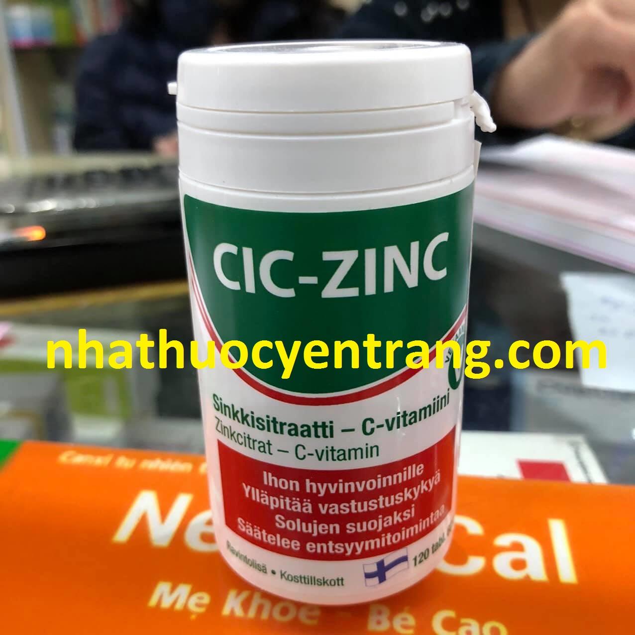 Cic - Zinc