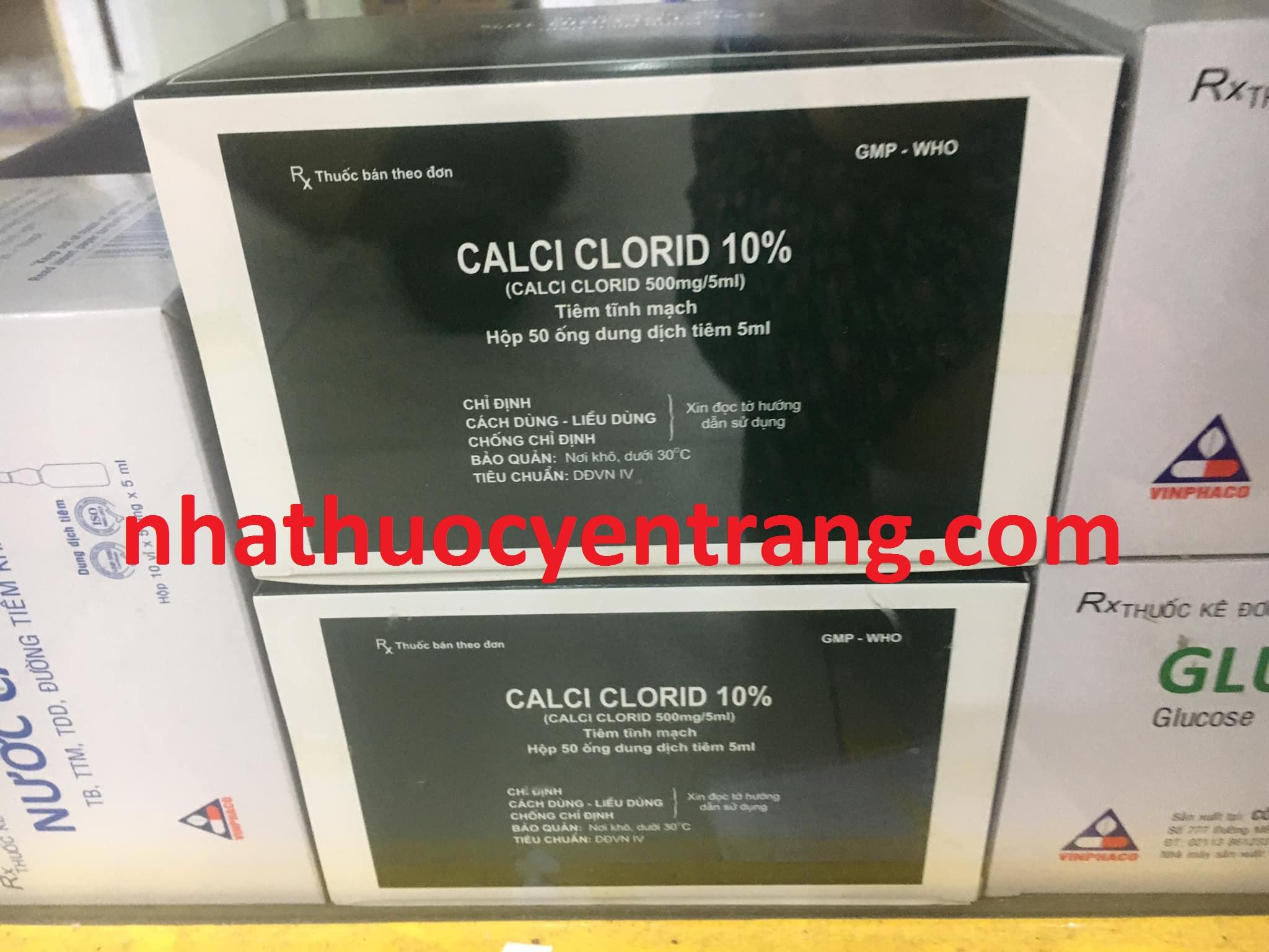 Calci Clorid 10%