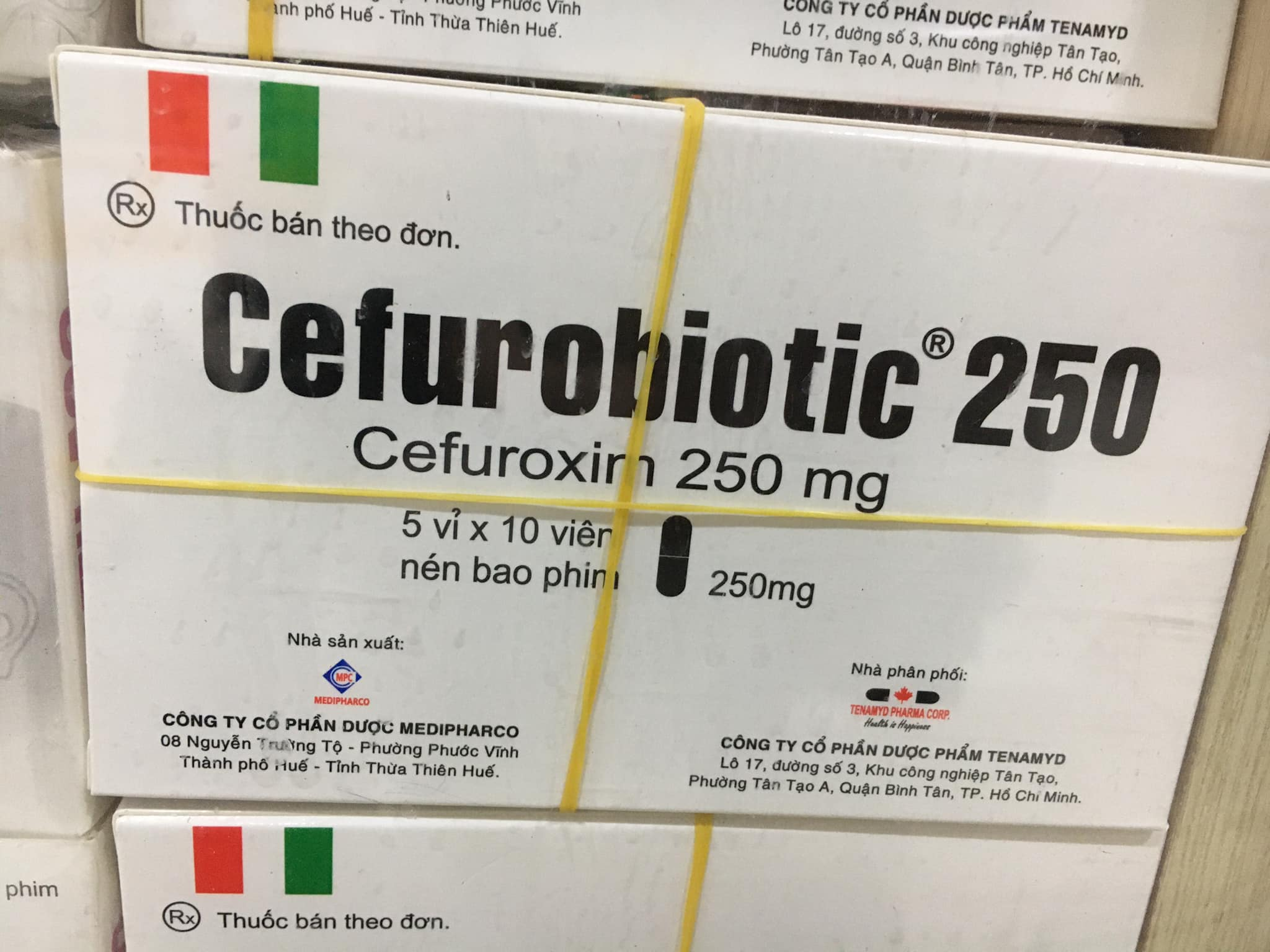 Cefurobiotic 250mg
