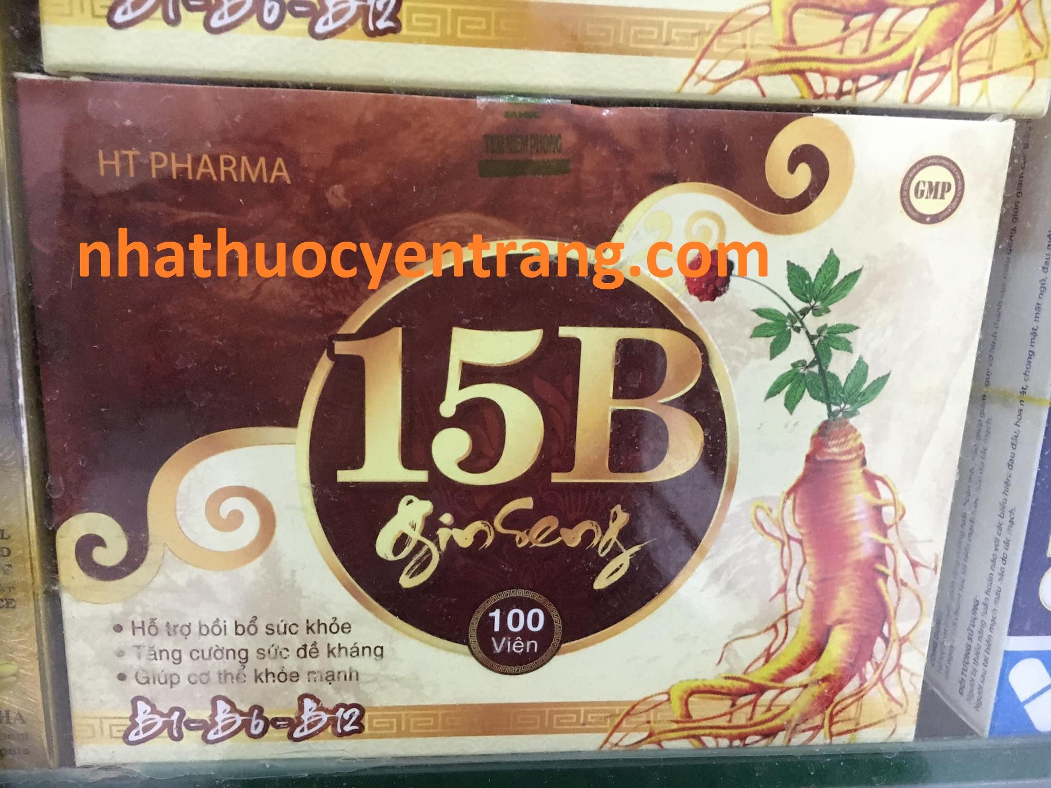 Vitamin 15B Ginseng