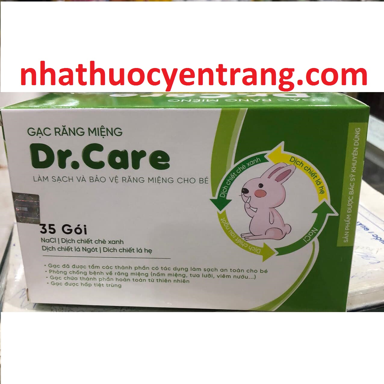 Gạc răng miệng Dr.Care