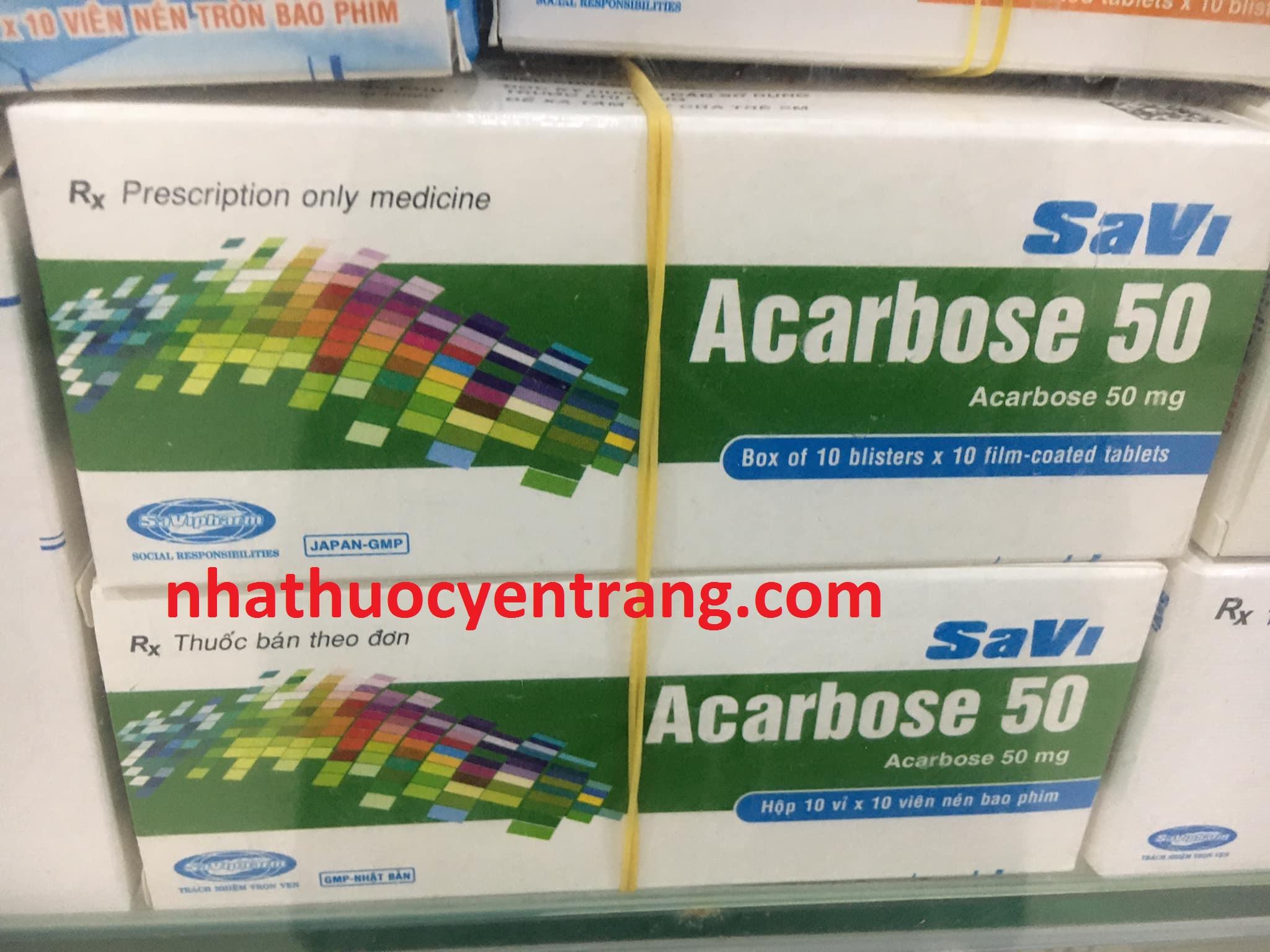 Acarbose 50mg Savi