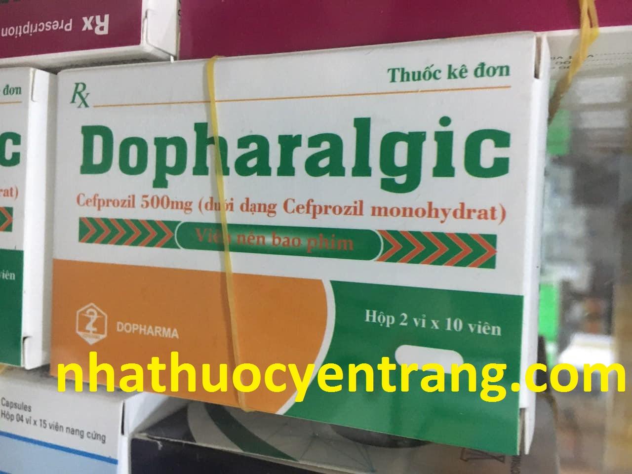 Dopharalgic 500mg