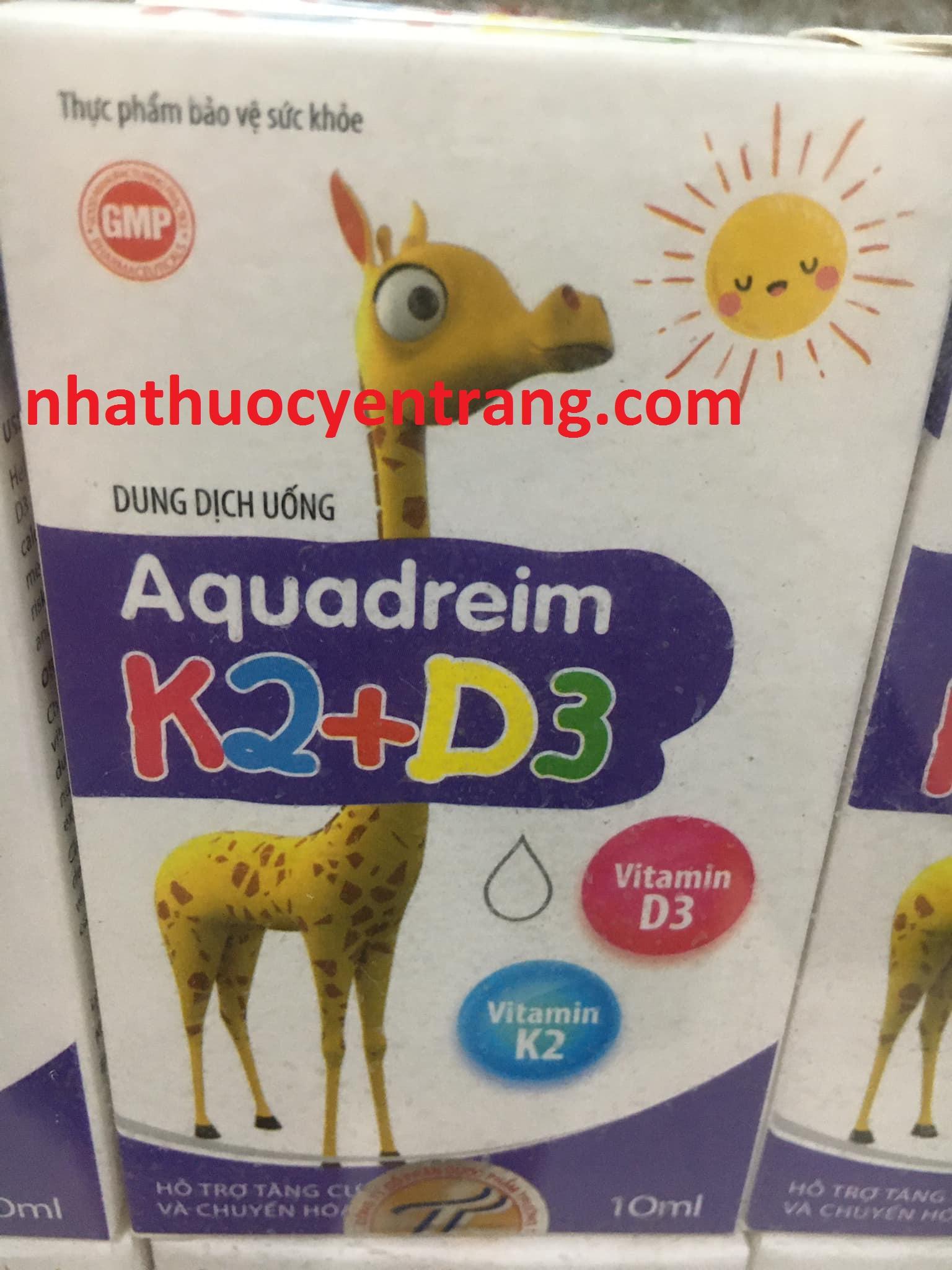 Aquadreim K2 + D3