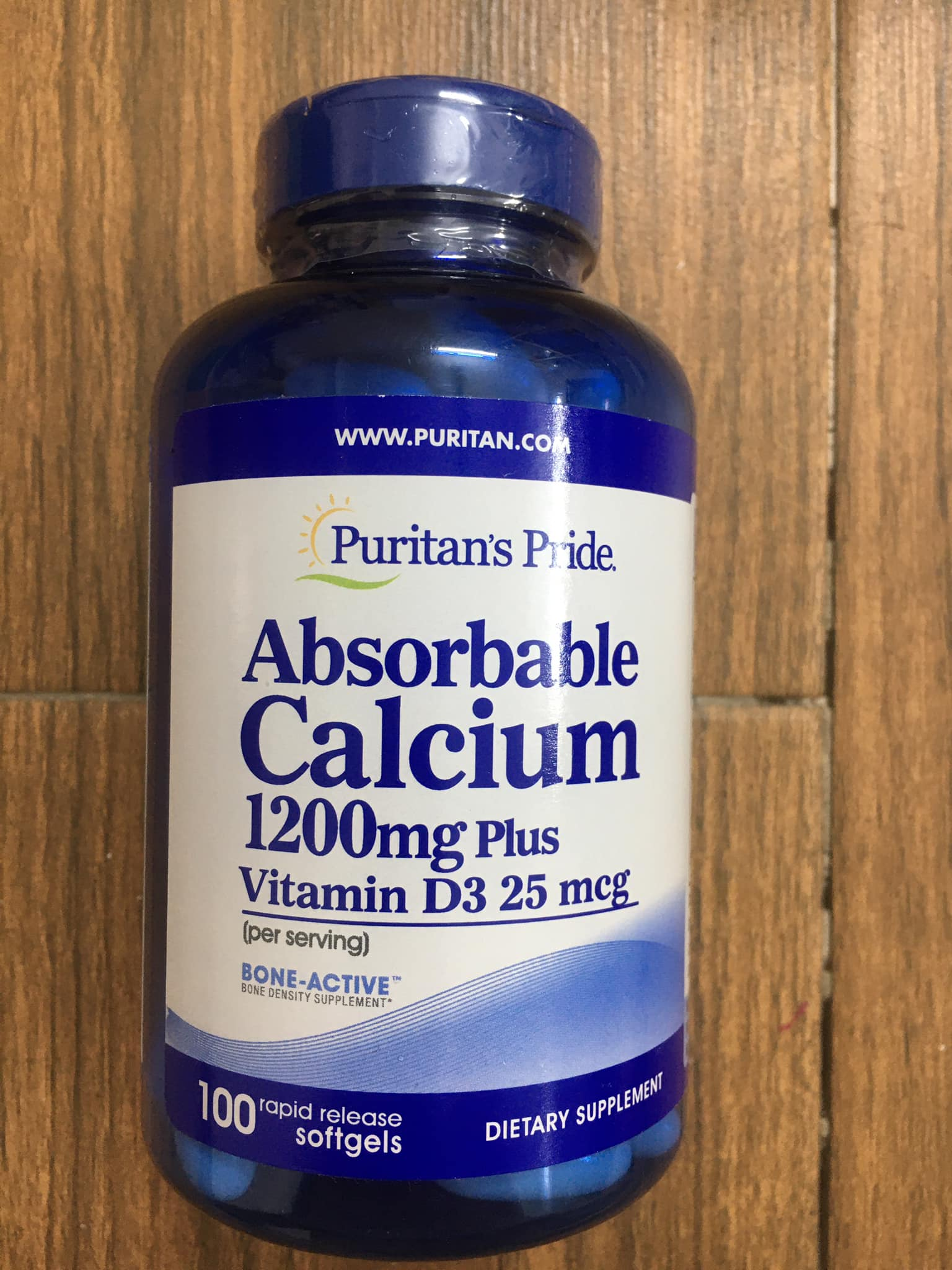 Absorbable Calcium 1200mg Plus Vitamin D3 25mcg