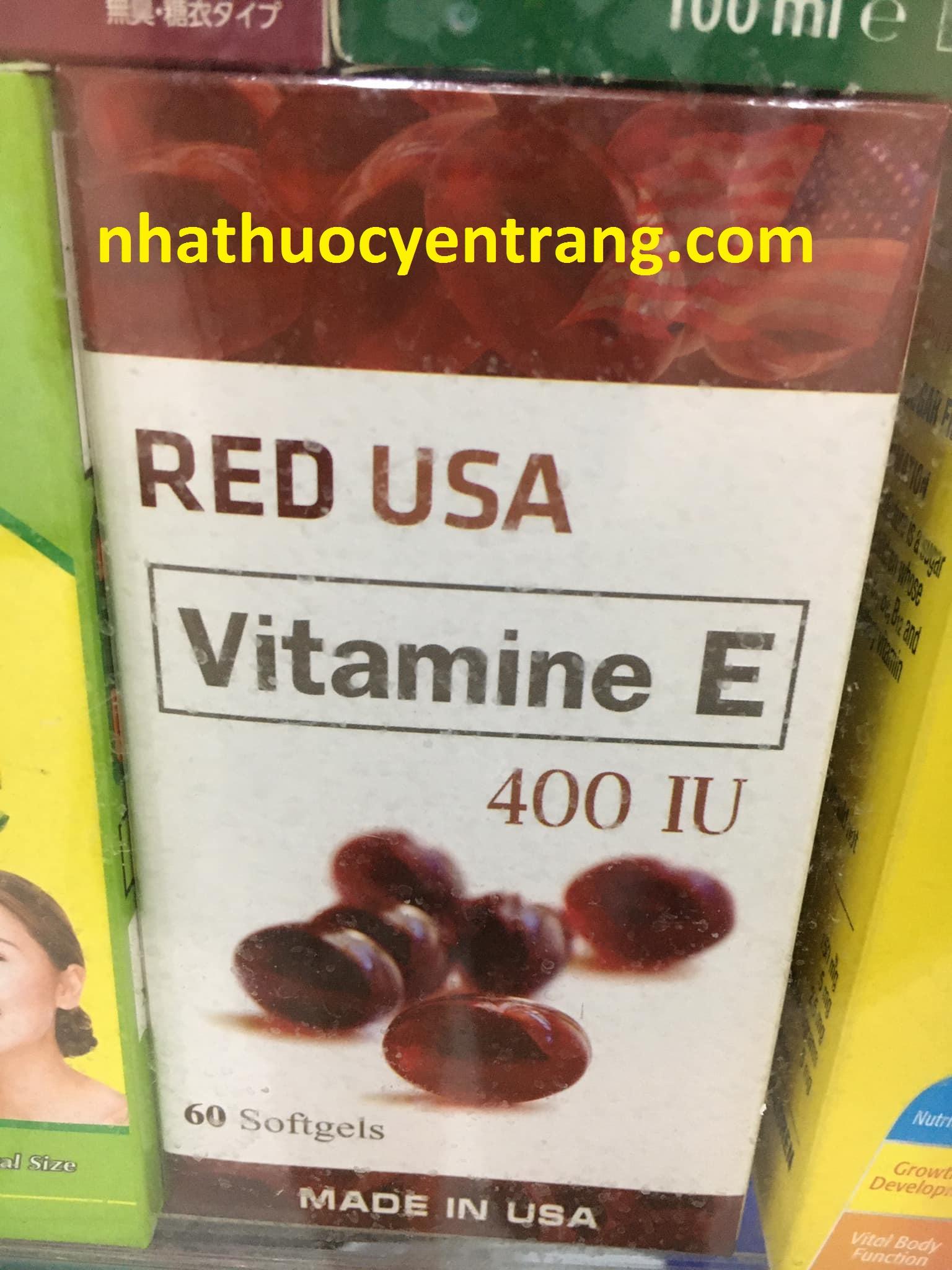 Vitamin E Red USA
