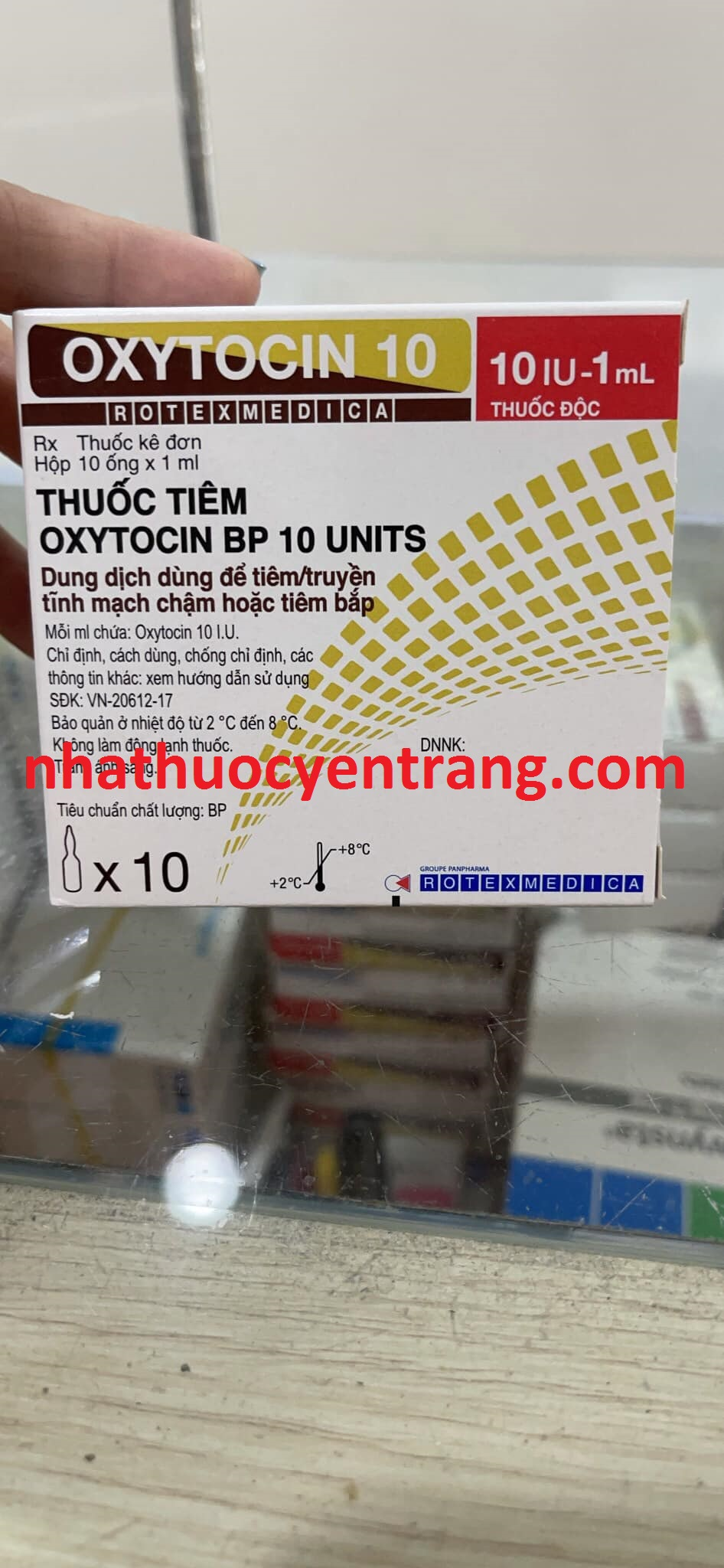 Oxytocin 10 IU/ml