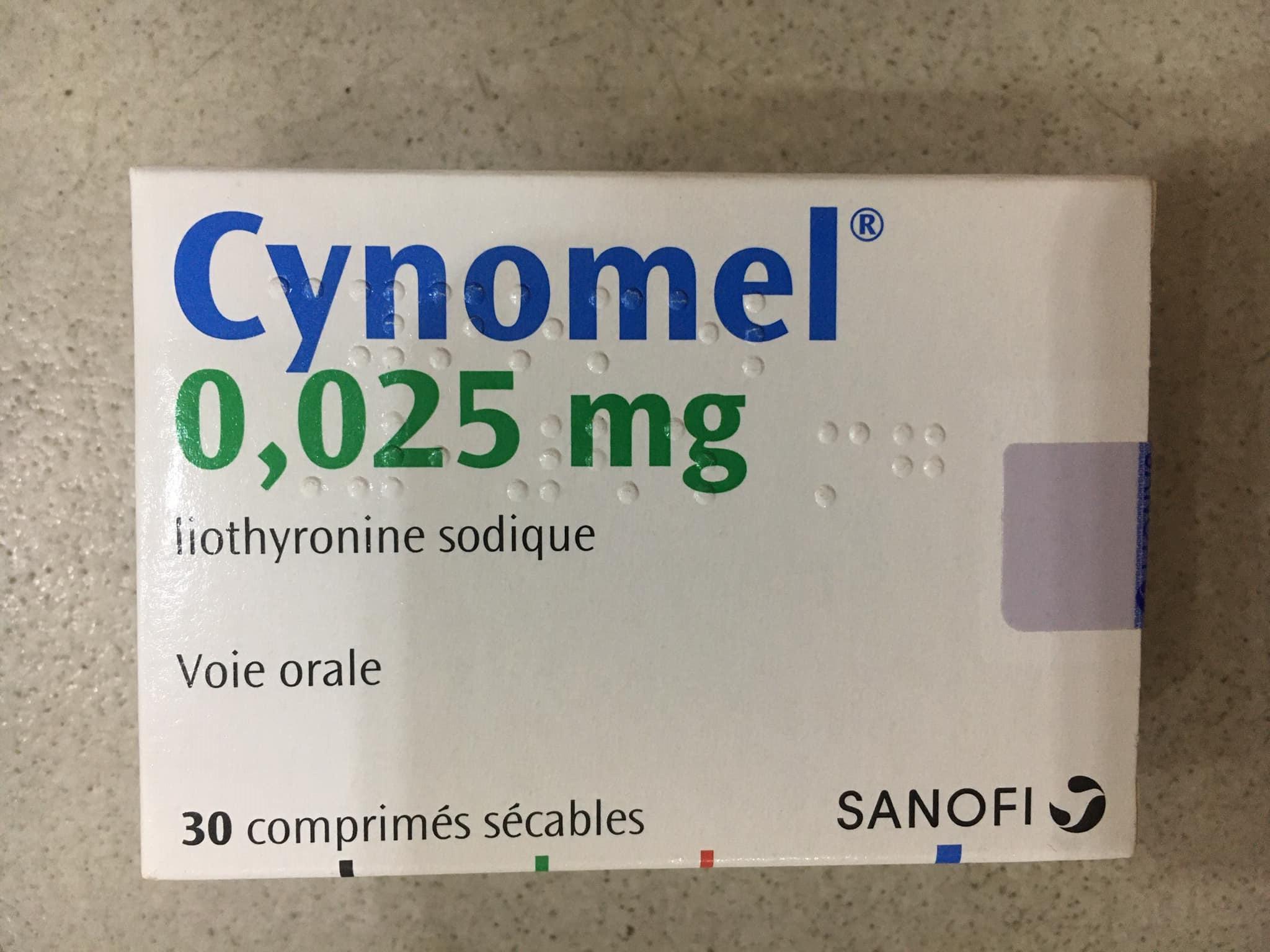 Cynomel 0.025 mg