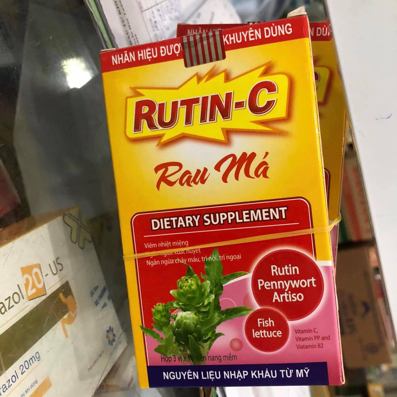 Rutin-C Rau Má