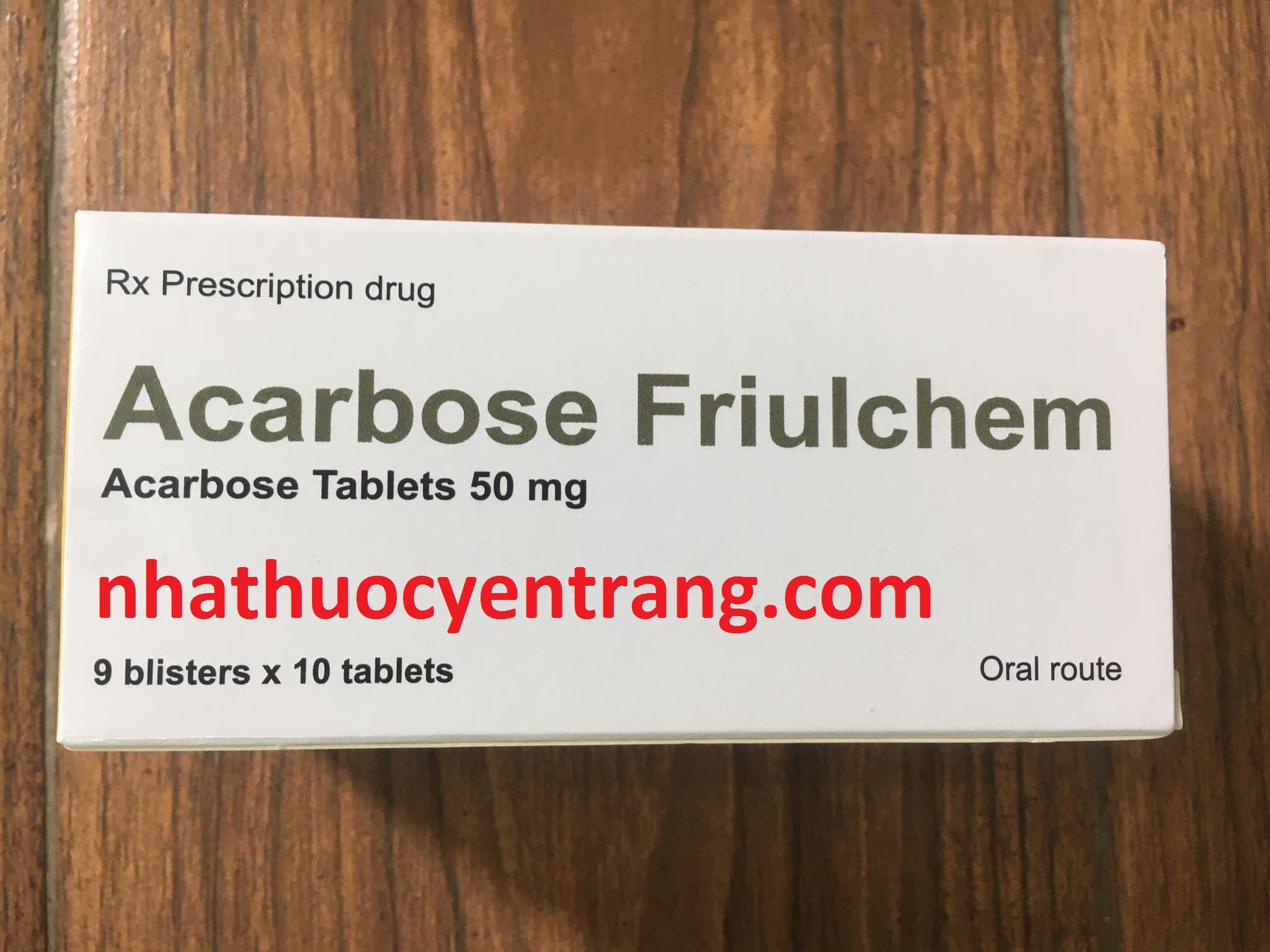 Acarbose Friulchem - T