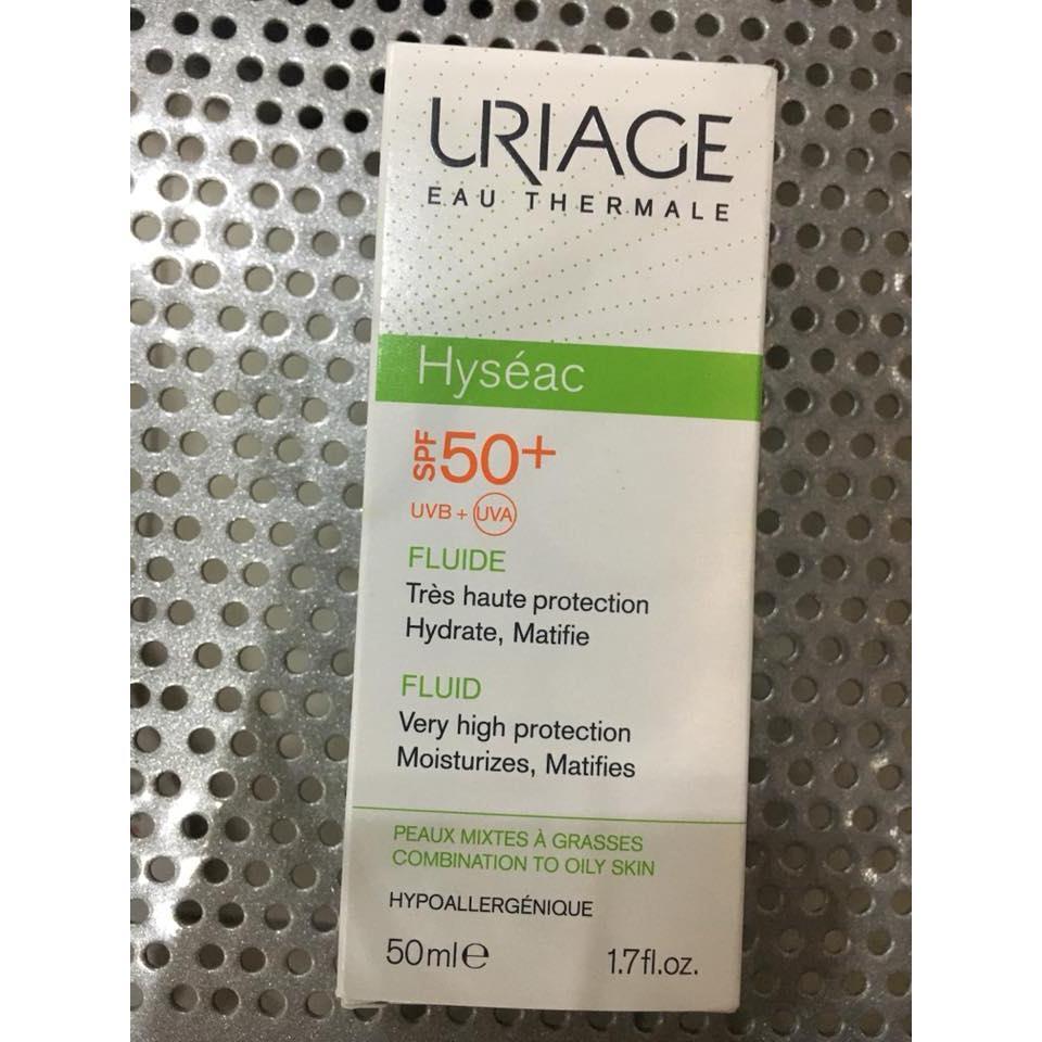 URIAGE HYSEAC FLUIDE SPF50+
