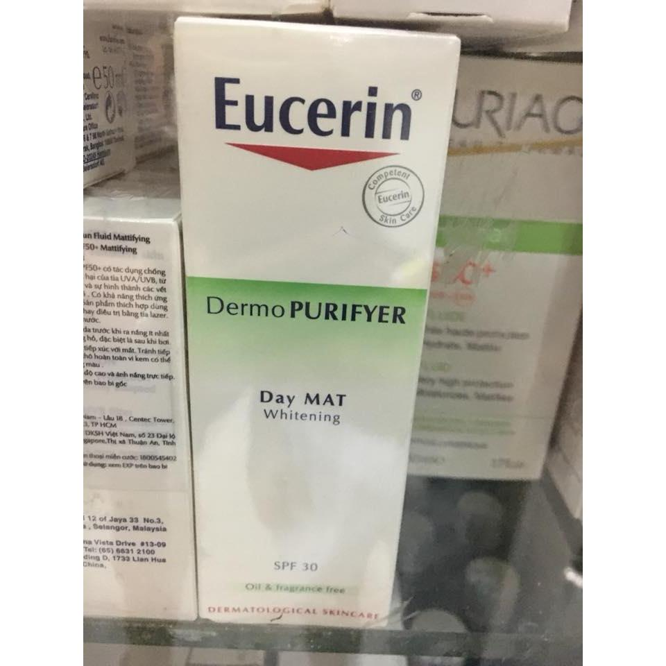 Eucerin DermoPURIFYER Day Mat Whitening SPF 30