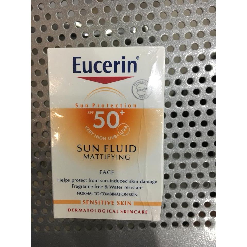 Kem chống nắng Eucerin Sun Fluid SPF 50+