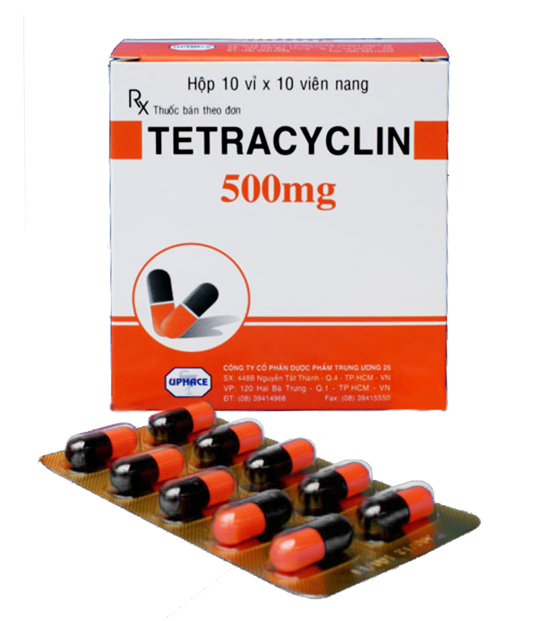 Tetracyclin 500mg (vỉ)